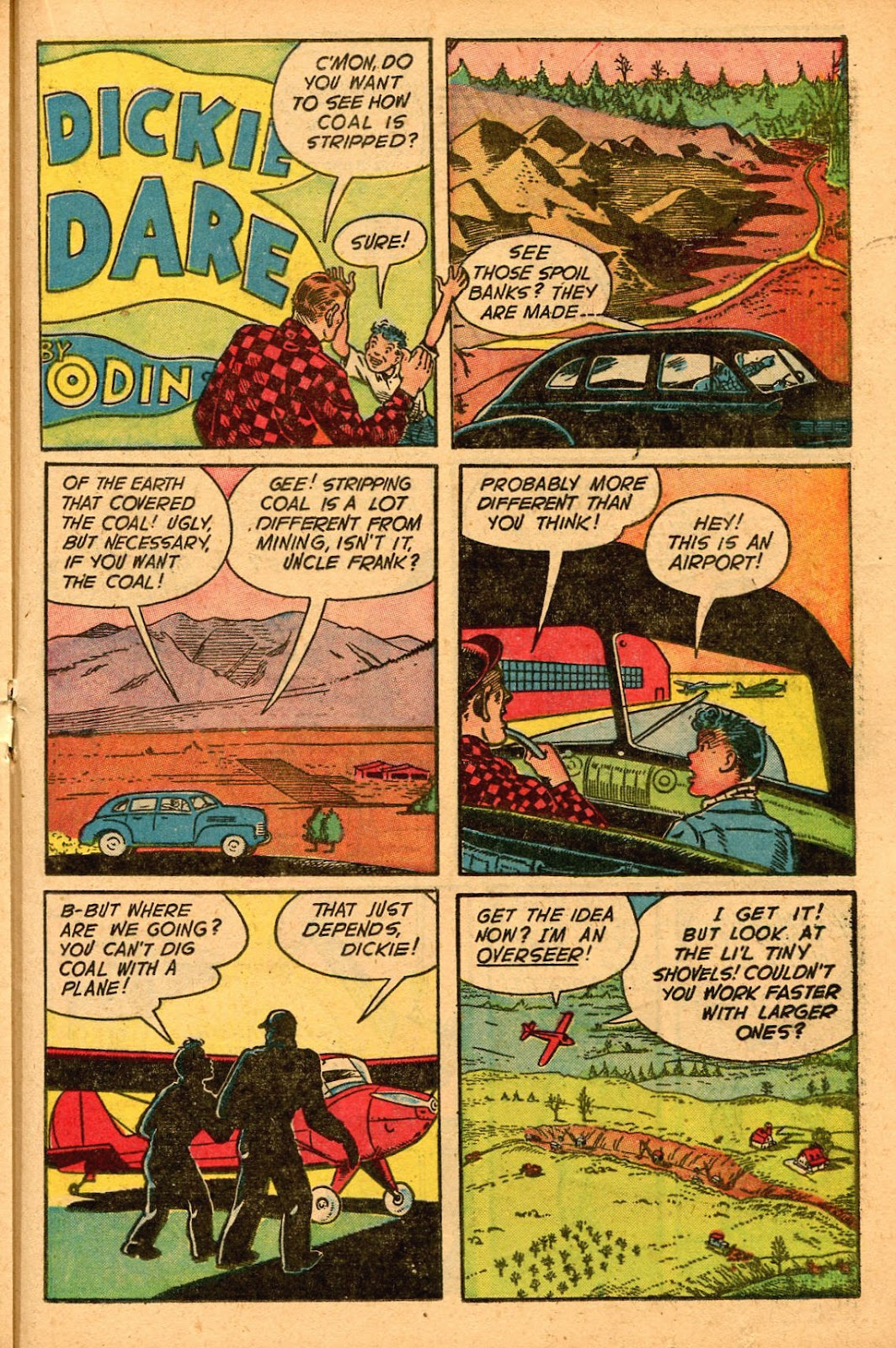Read online Famous Funnies comic -  Issue #155 - 29
