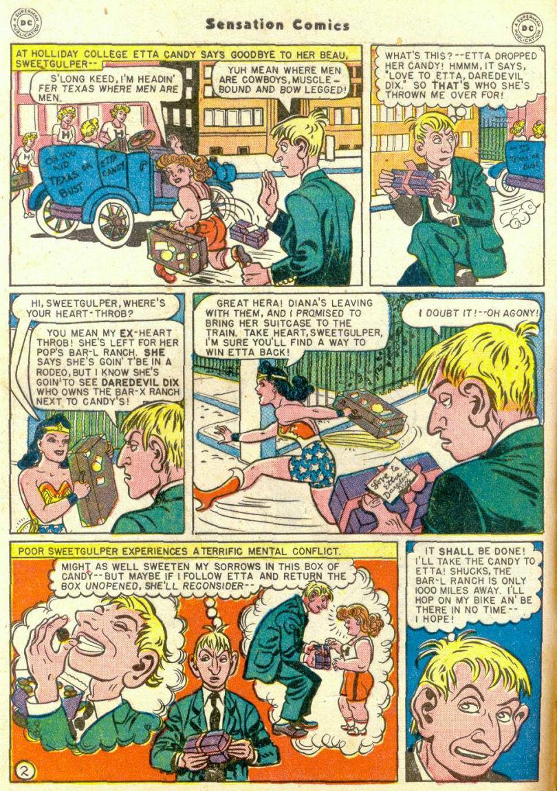 Read online Sensation (Mystery) Comics comic -  Issue #67 - 4