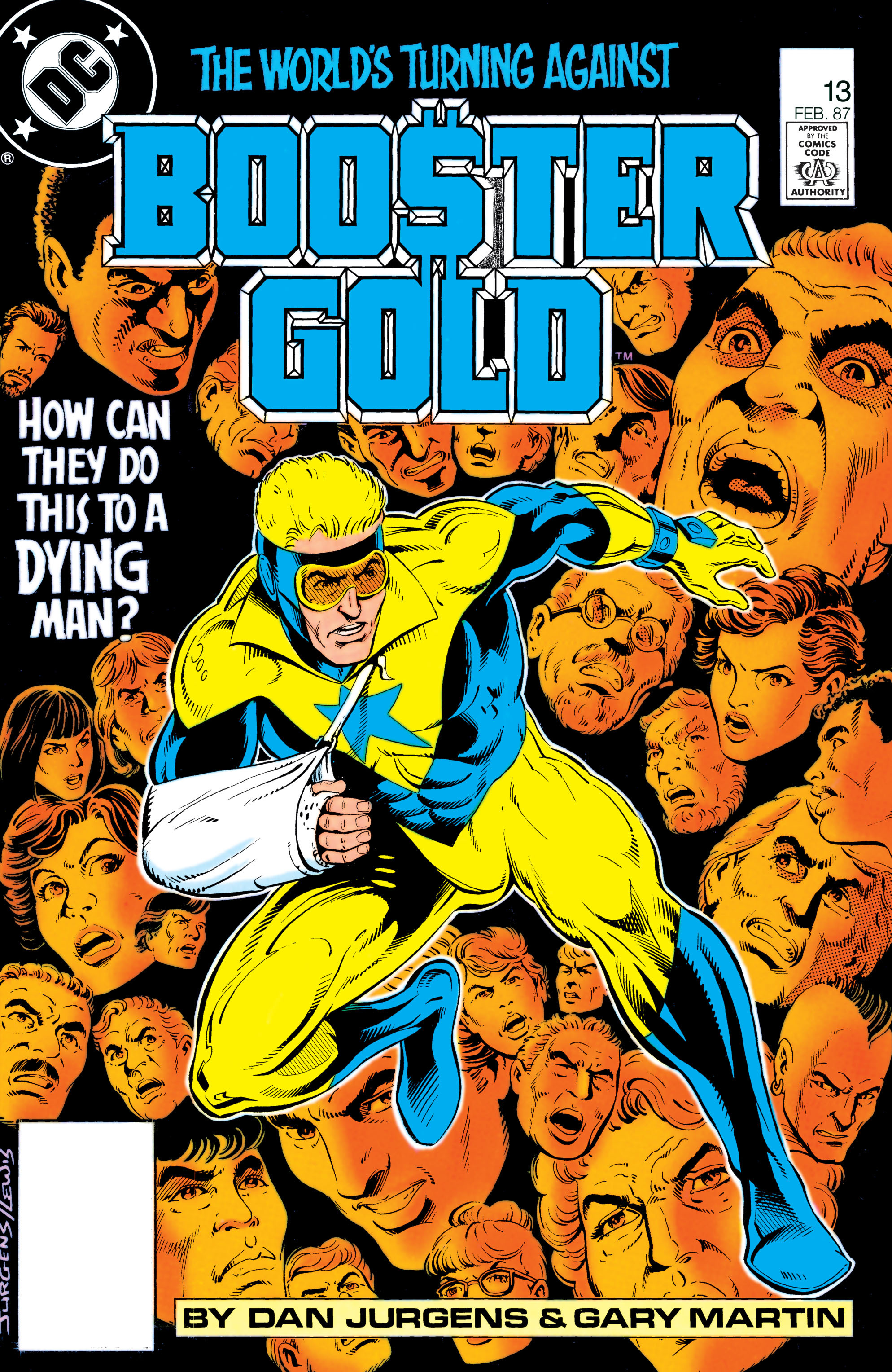 Booster Gold 1986 Issue 13