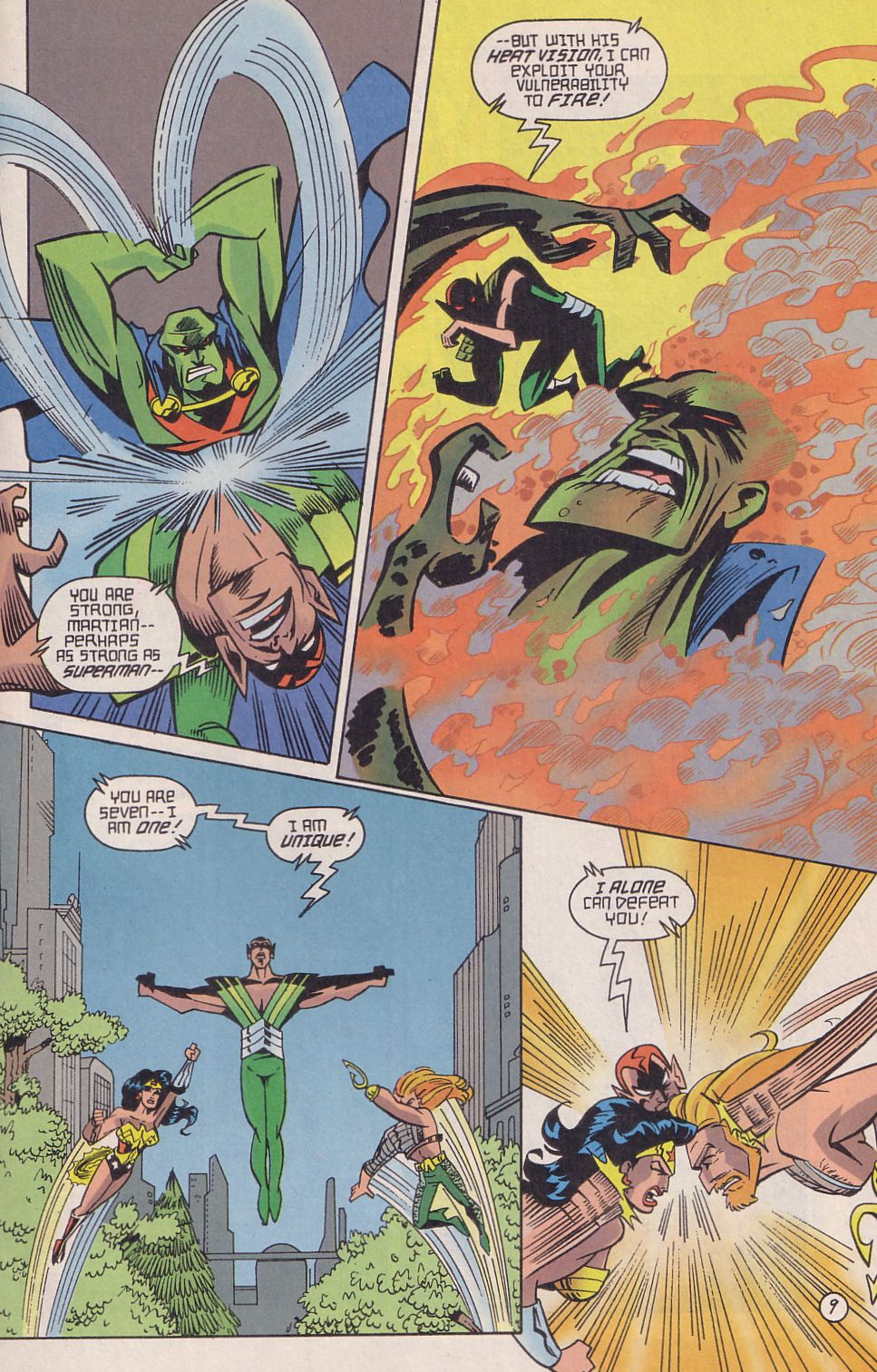 Read online Adventures in the DC Universe comic -  Issue #18 - 10