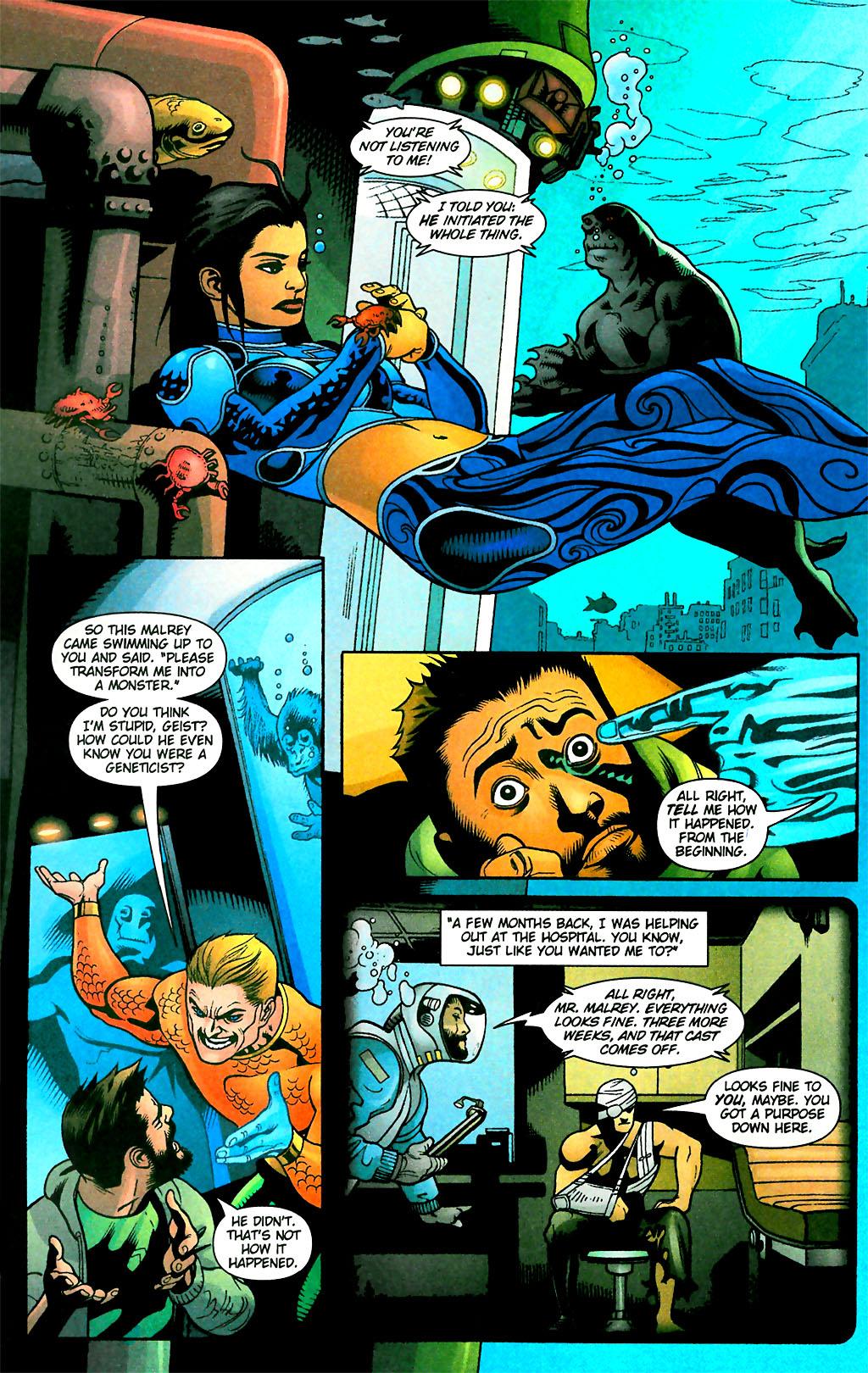 Read online Aquaman (2003) comic -  Issue #28 - 19