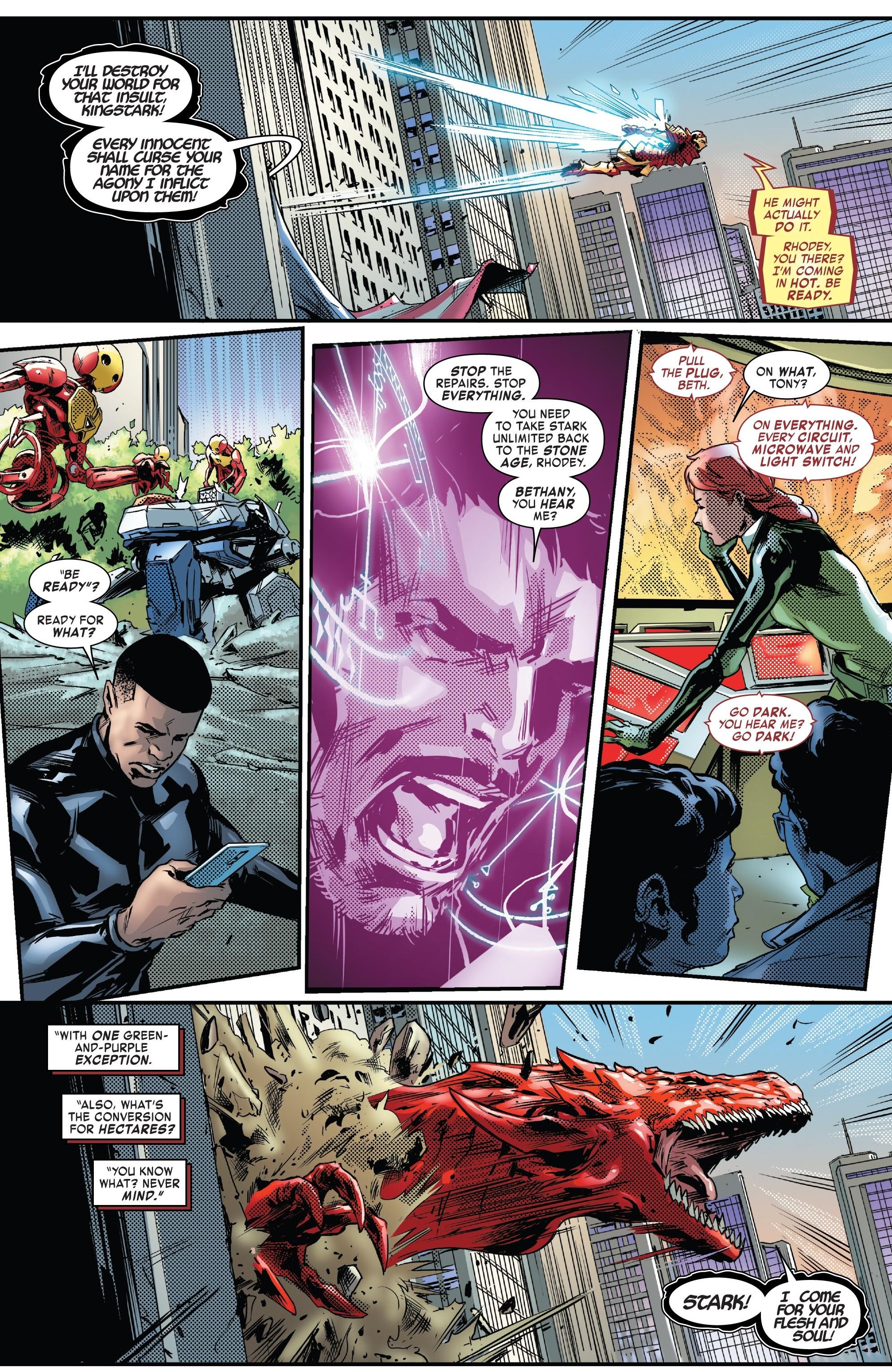 Read online Tony Stark: Iron Man comic -  Issue #13 - 16