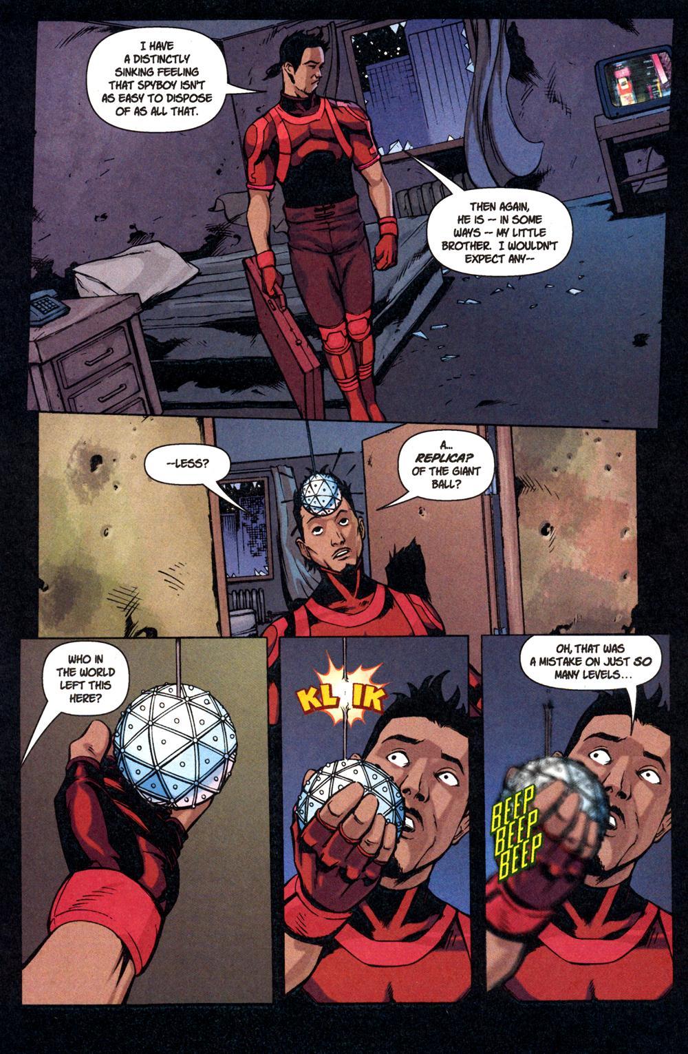 Read online SpyBoy: Final Exam comic -  Issue #1 - 10
