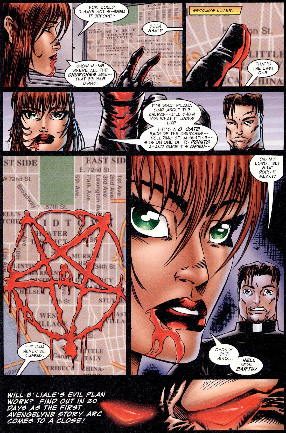 Read online Avengelyne (1995) comic -  Issue #2 - 28