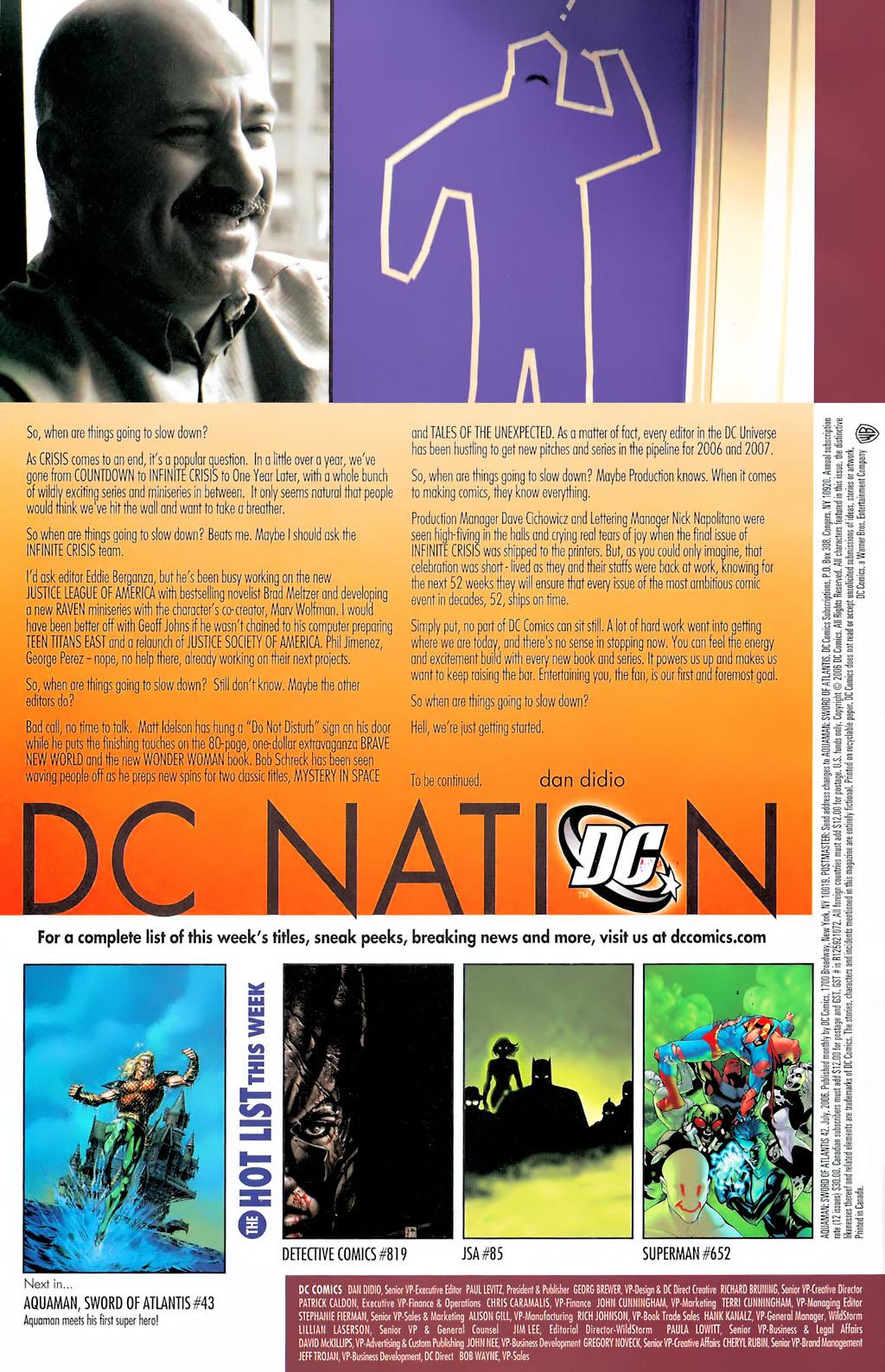 Read online Aquaman: Sword of Atlantis comic -  Issue #42 - 24