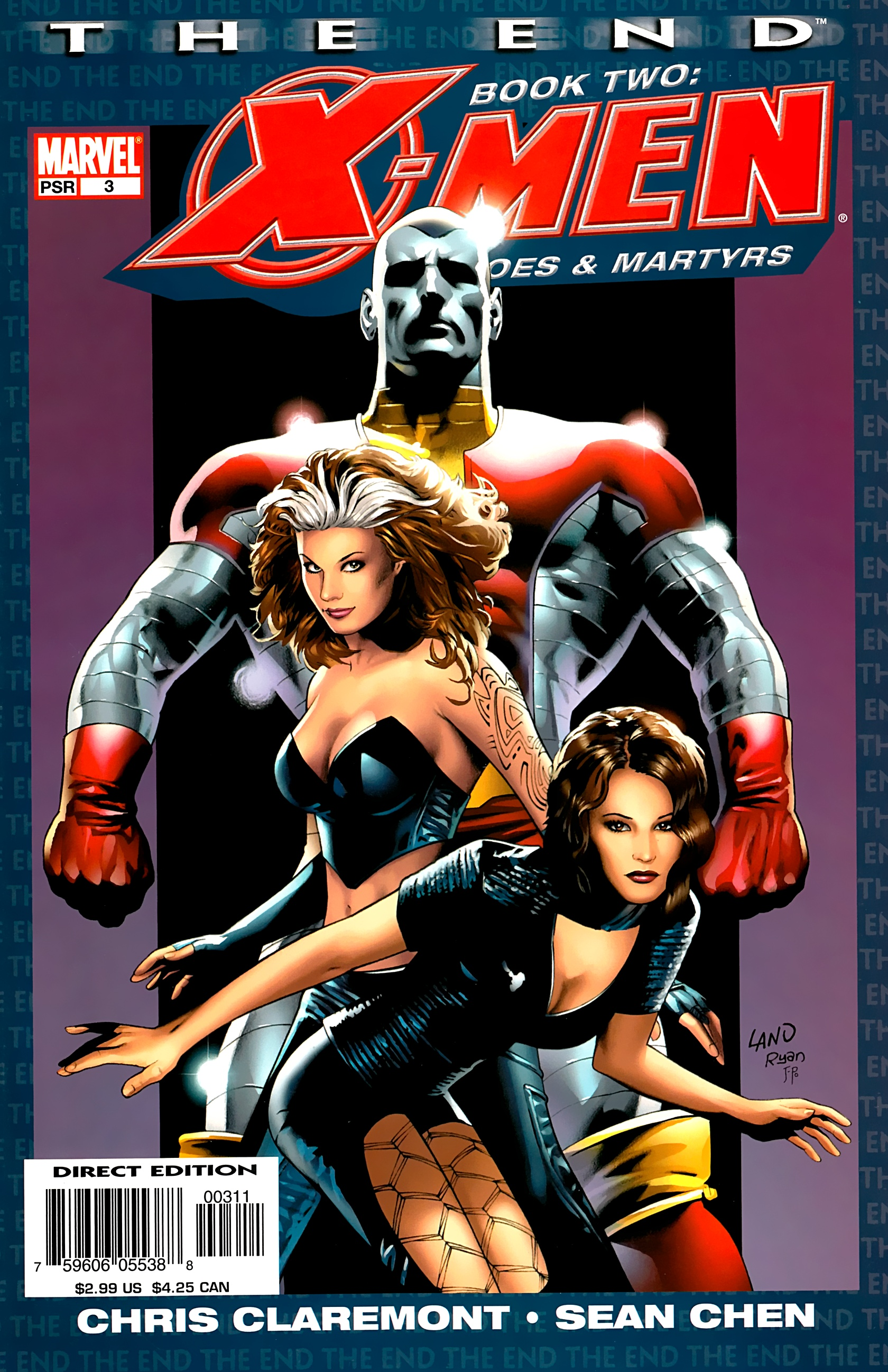 X-Men: The End: Book 2: Heroes & Martyrs 3 Page 1