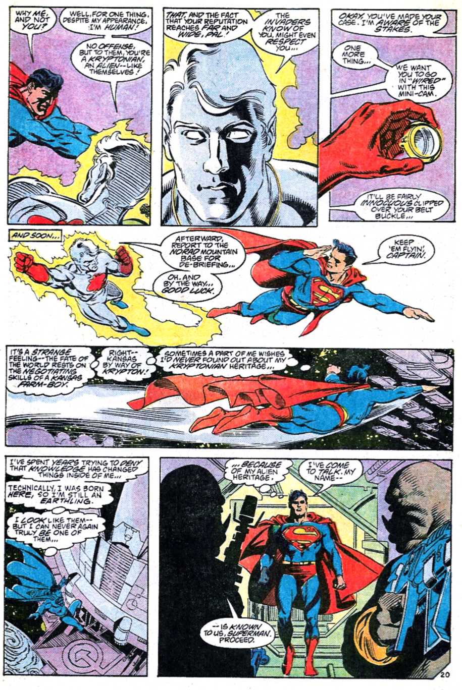 Read online Adventures of Superman (1987) comic -  Issue #449 - 20