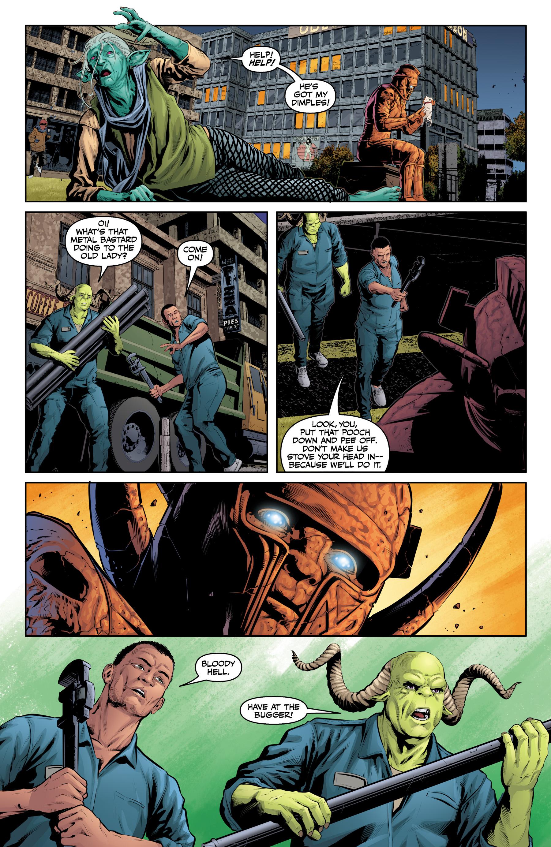 Read online Angel & Faith Season 10 comic -  Issue #23 - 19
