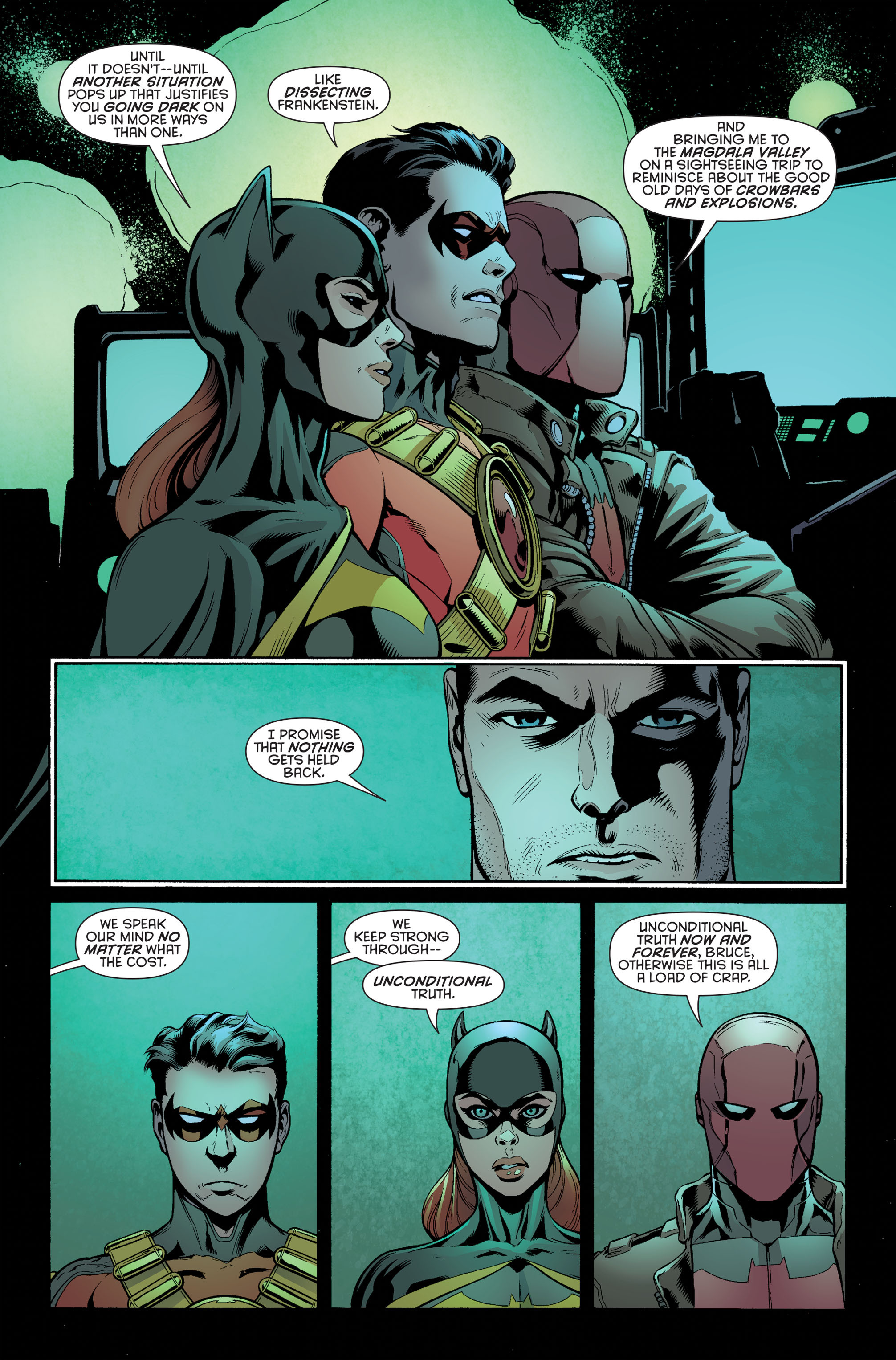 Read online Batman and Robin (2011) comic -  Issue #34 - 4