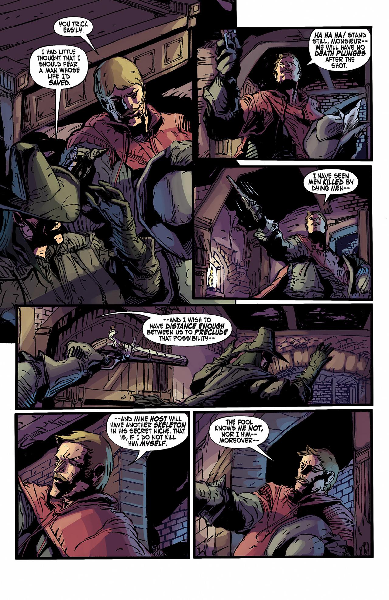 Read online Solomon Kane: Death's Black Riders comic -  Issue #2 - 17
