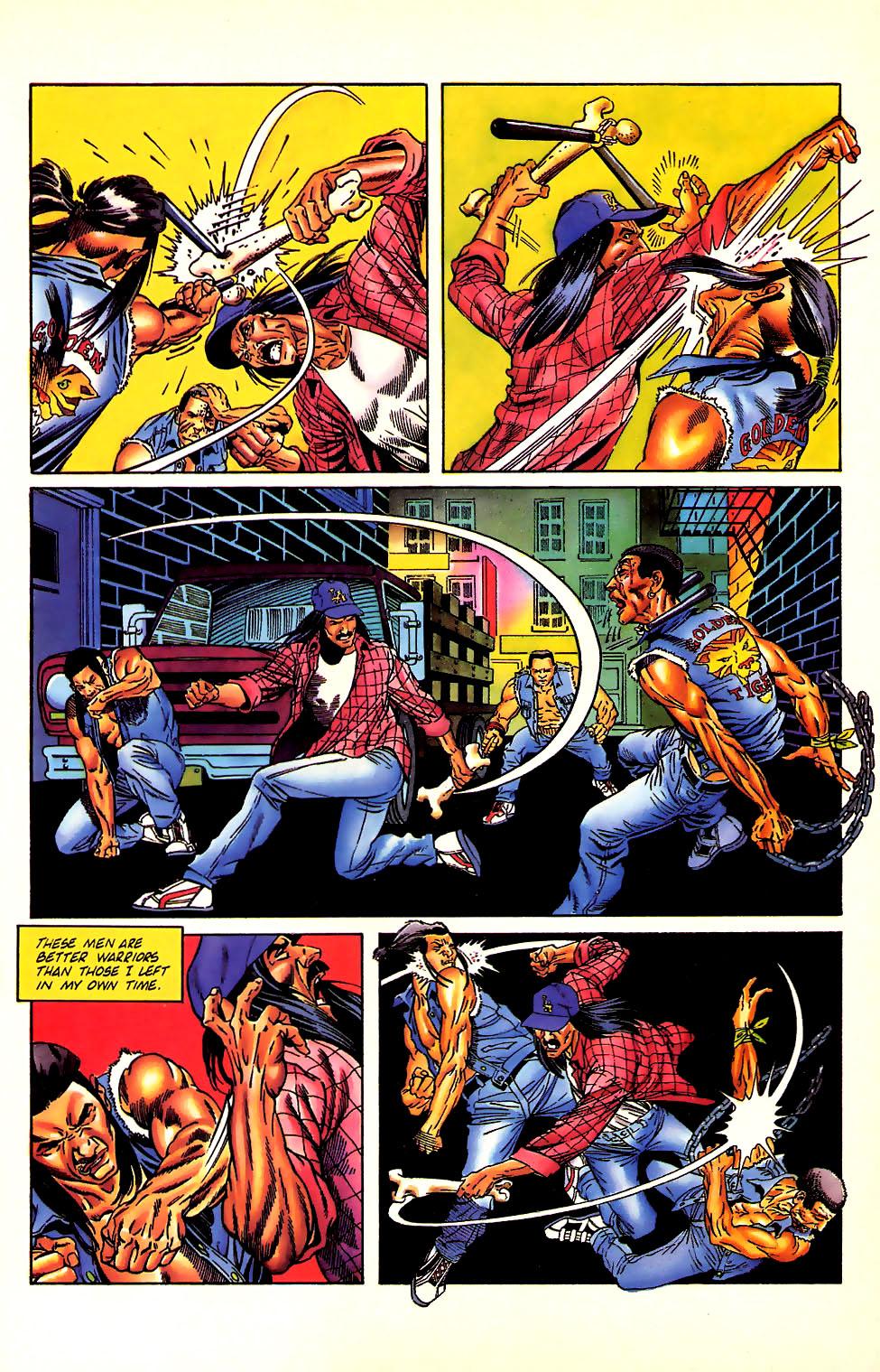Read online Turok, Dinosaur Hunter (1993) comic -  Issue #11 - 17