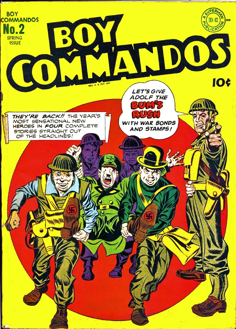 Boy Commandos issue 2 - Page 1
