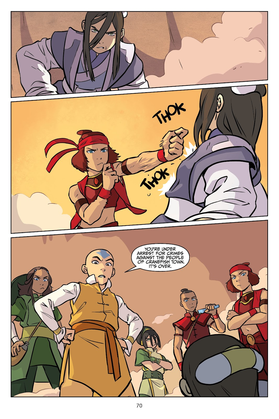 Read online Nickelodeon Avatar: The Last Airbender - Imbalance comic -  Issue # TPB 2 - 71