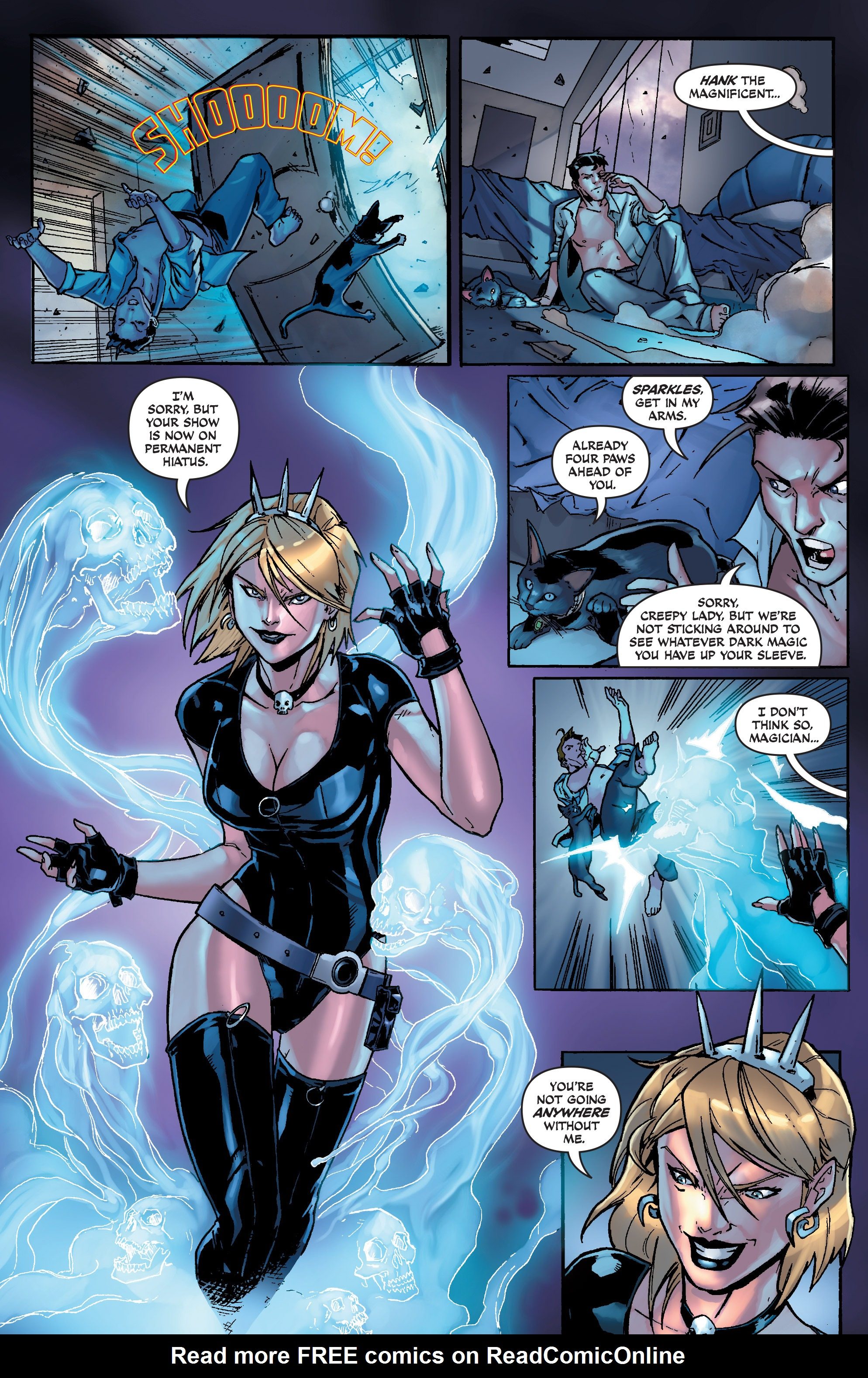 Read online Aspen Universe: Decimation comic -  Issue # Full - 6
