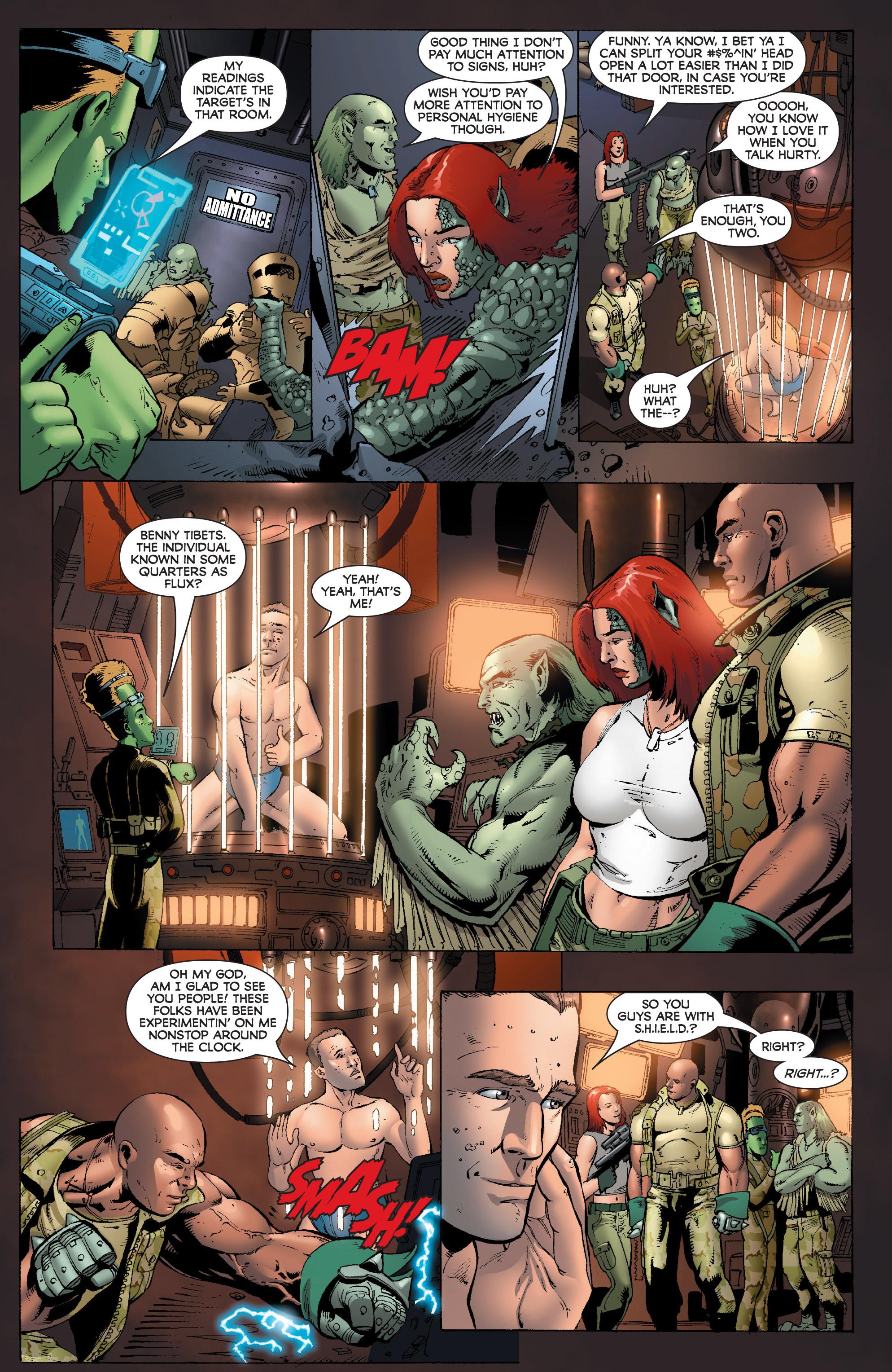 Read online World War Hulk: Gamma Corps comic -  Issue #1 - 21