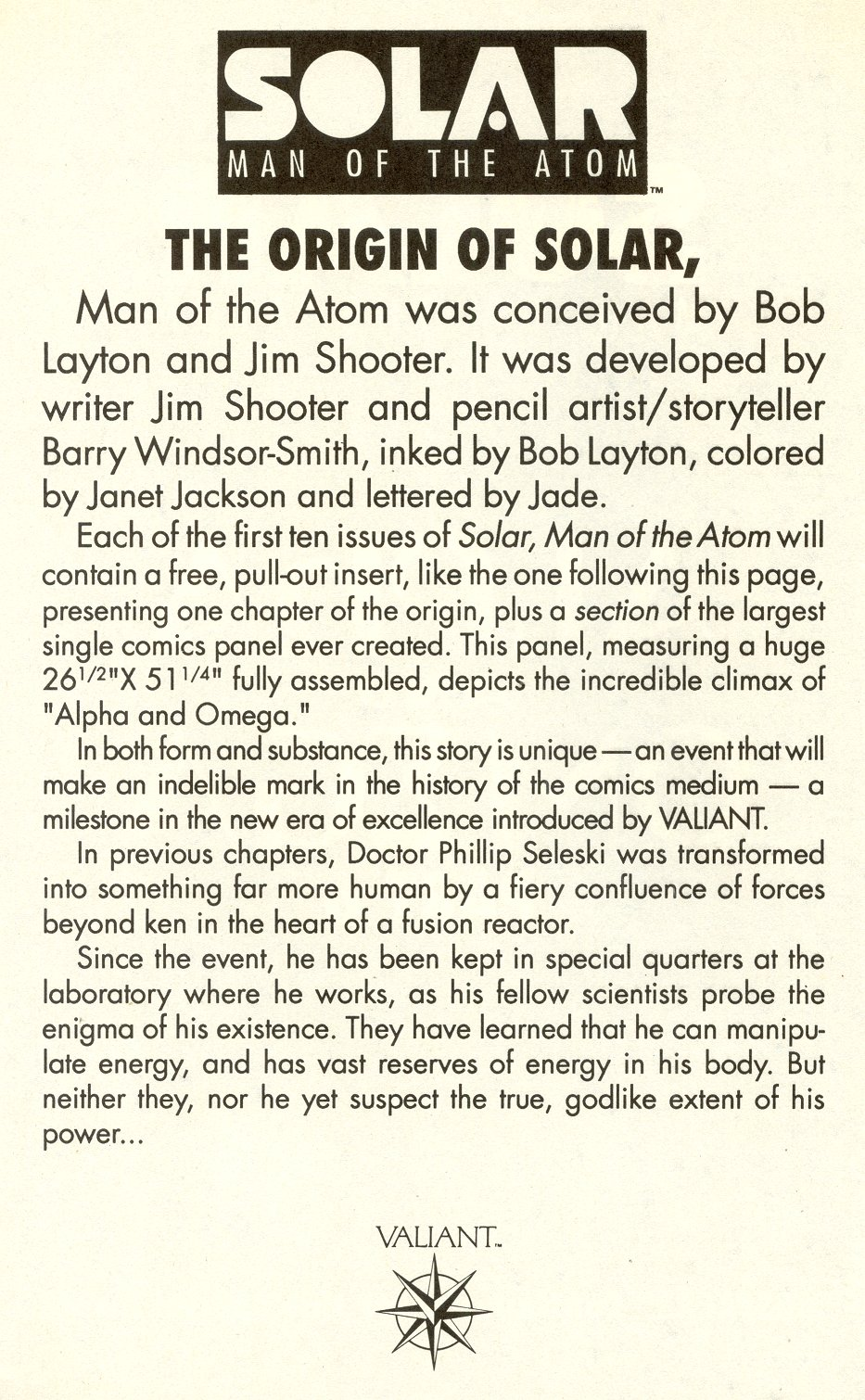 Read online Solar, Man of the Atom comic -  Issue #6 - 16