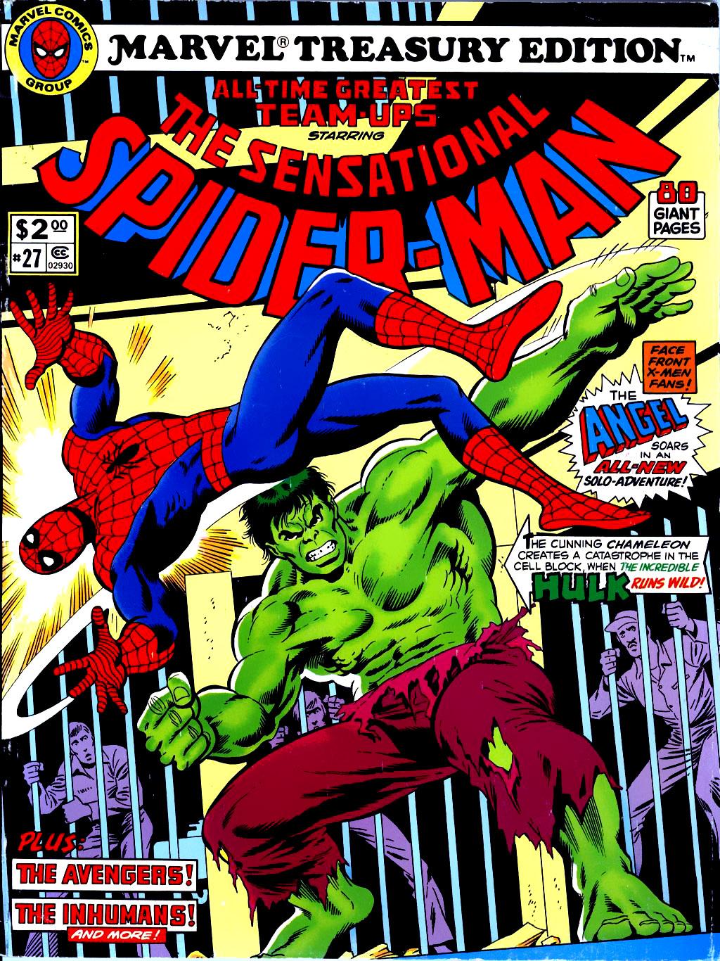 Marvel Treasury Edition 27 Page 1