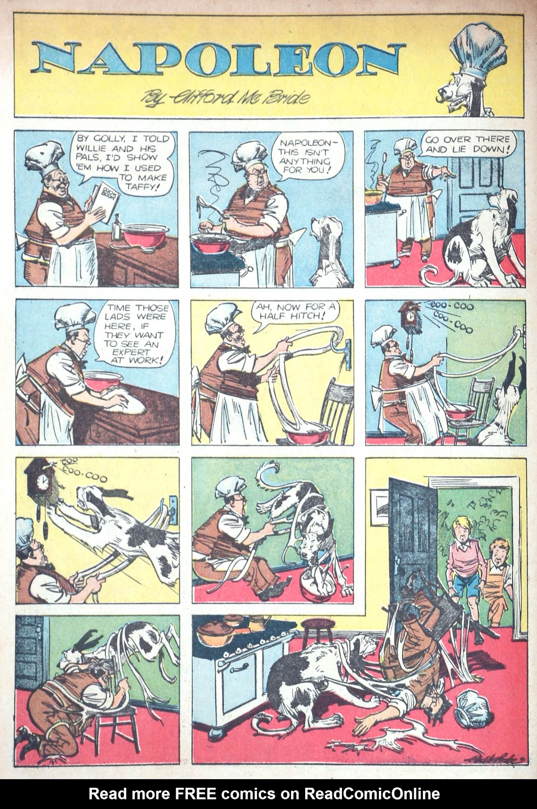 Read online Famous Funnies comic -  Issue #85 - 64