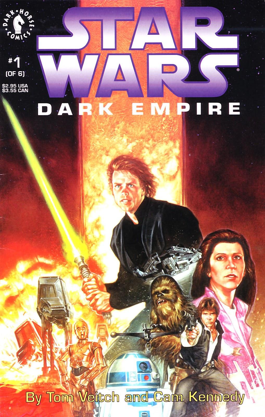 Star Wars: Dark Empire 1 Page 1