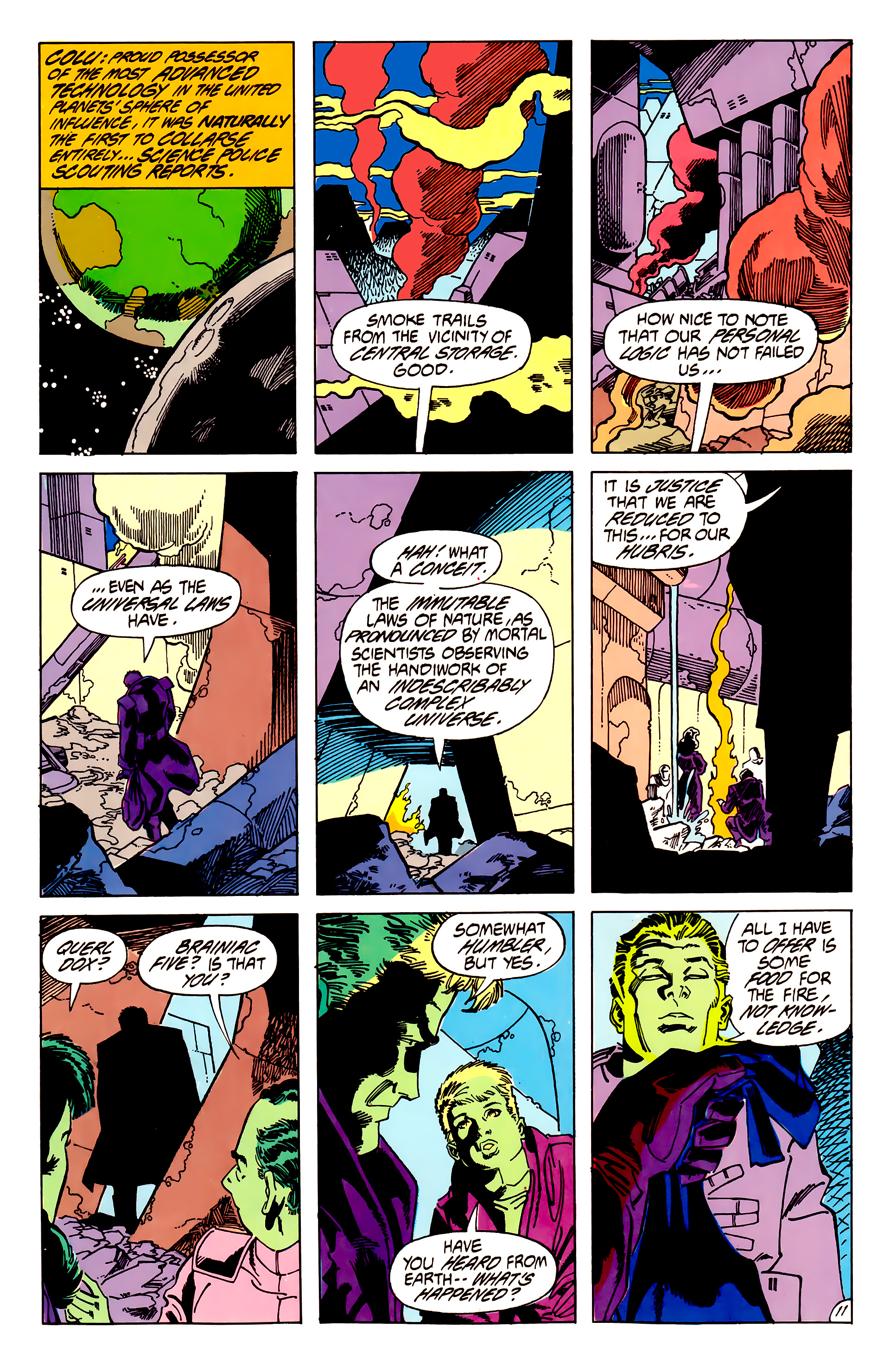 Legion of Super-Heroes (1984) 62 Page 11