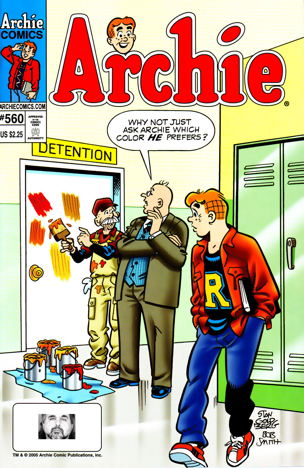 Read online Archie (1960) comic -  Issue #560 - 1