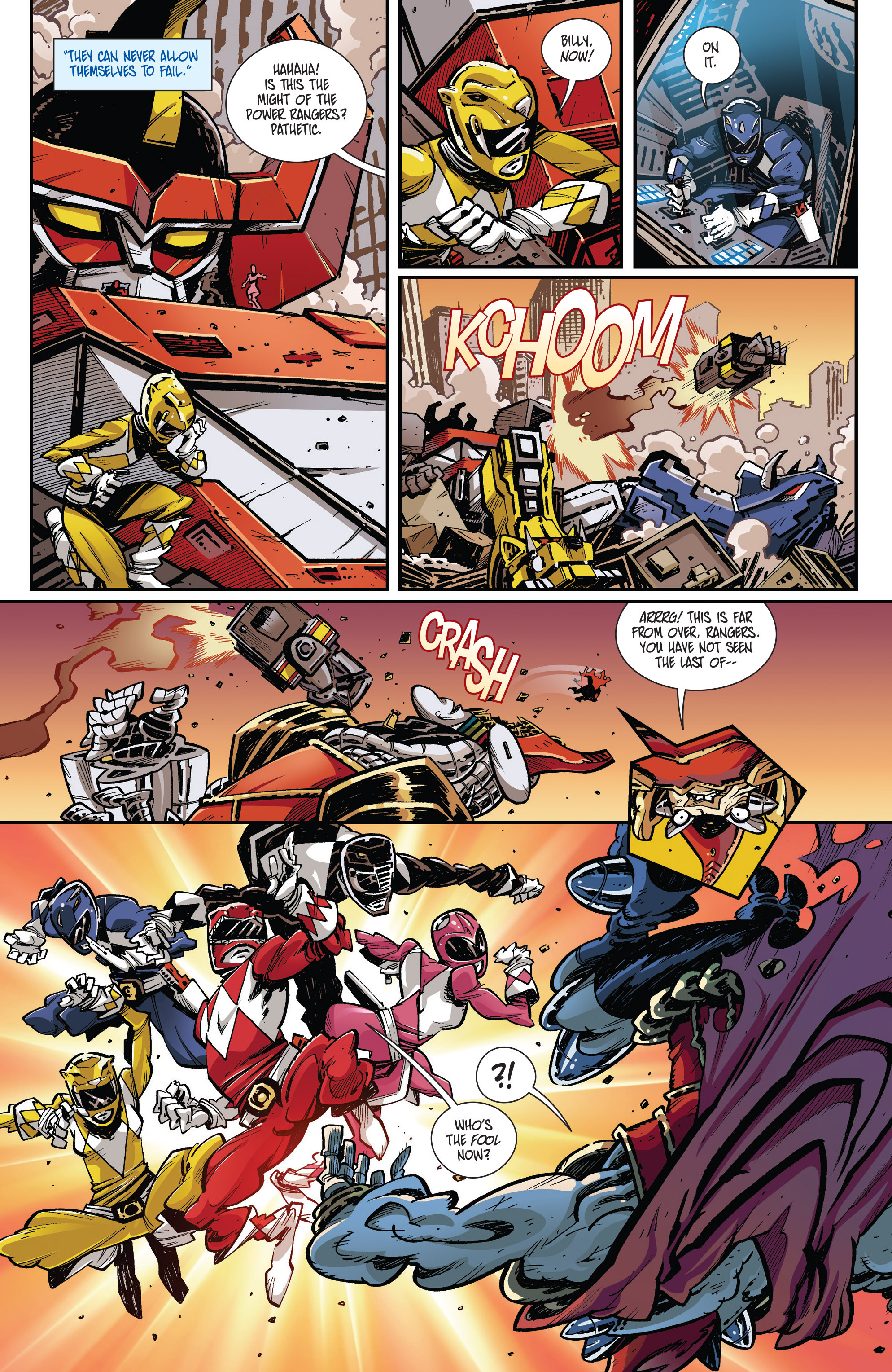 Read online Mighty Morphin Power Rangers comic -  Issue # _Annual 1 - 40