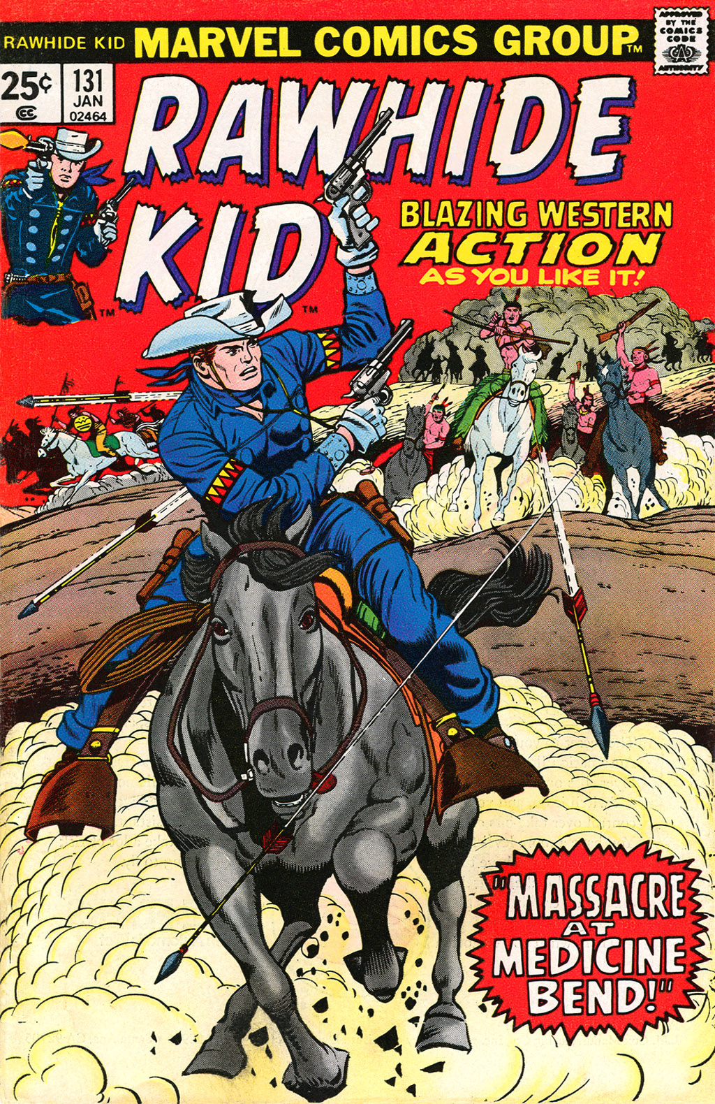 The Rawhide Kid (1955) issue 131 - Page 1