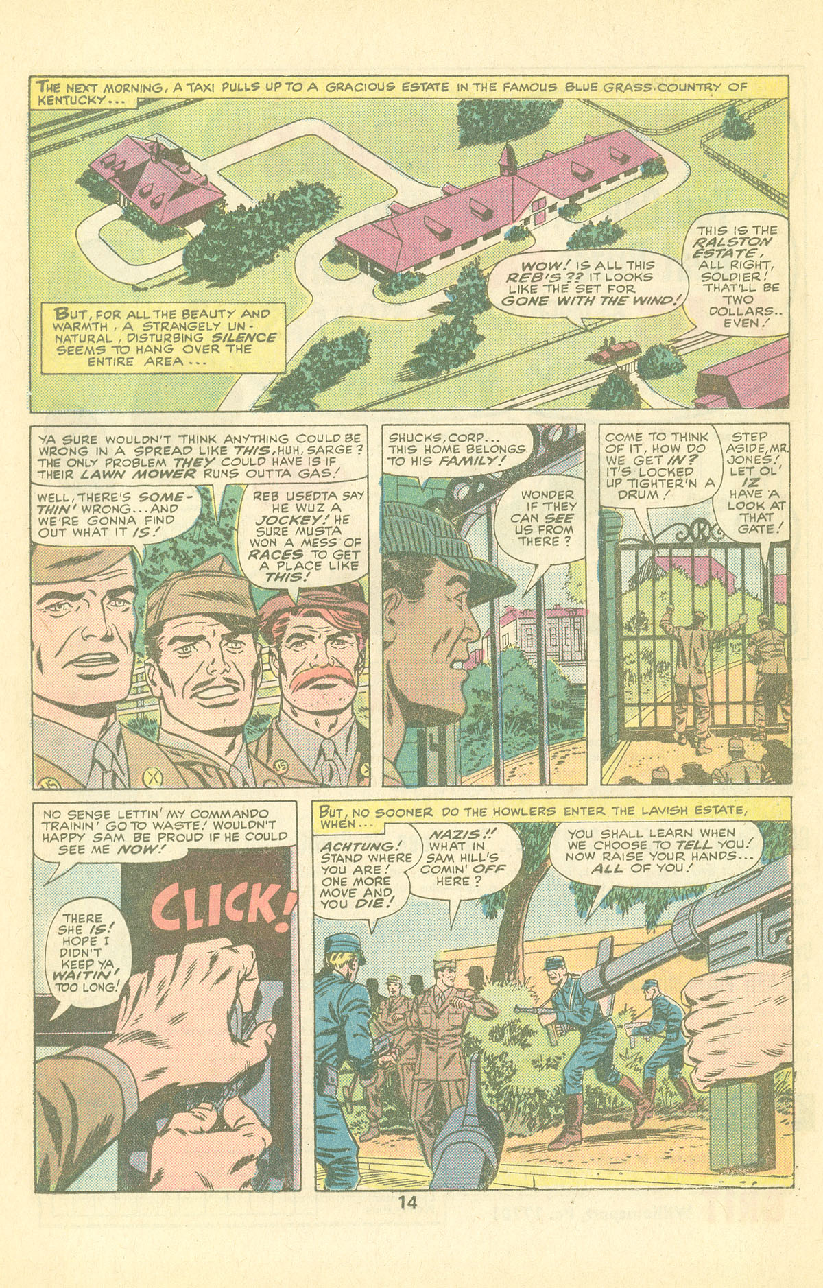 Read online Sgt. Fury comic -  Issue #126 - 16