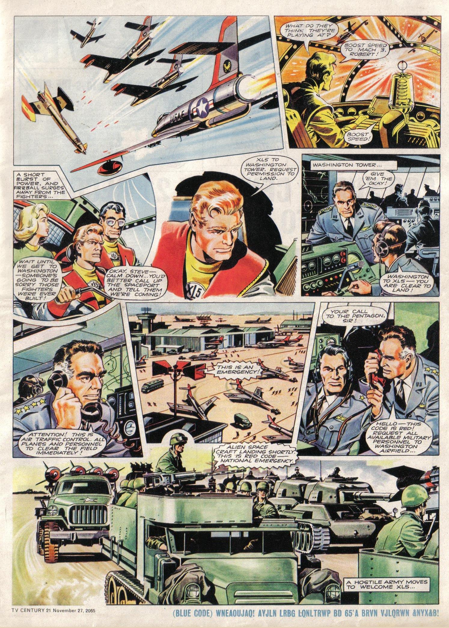 Read online TV Century 21 (TV 21) comic -  Issue #45 - 5