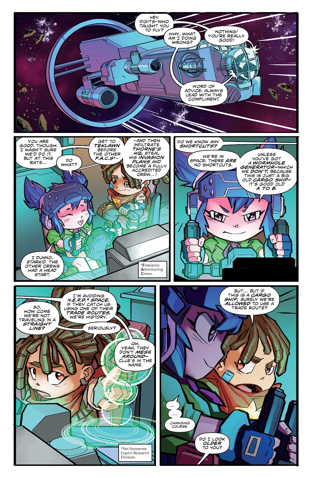Read online Starcadia Quest comic -  Issue #2 - 3