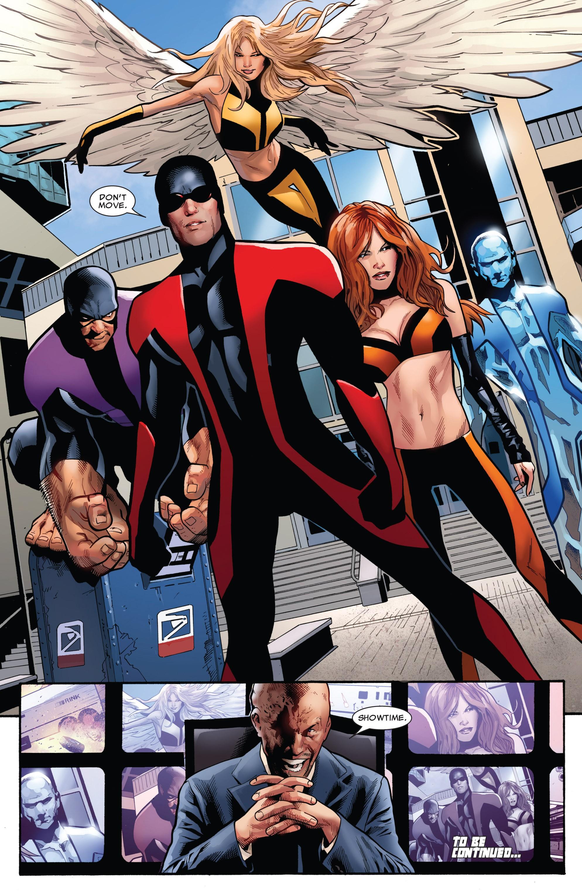 Read online Uncanny X-Men (1963) comic -  Issue #530 - 25