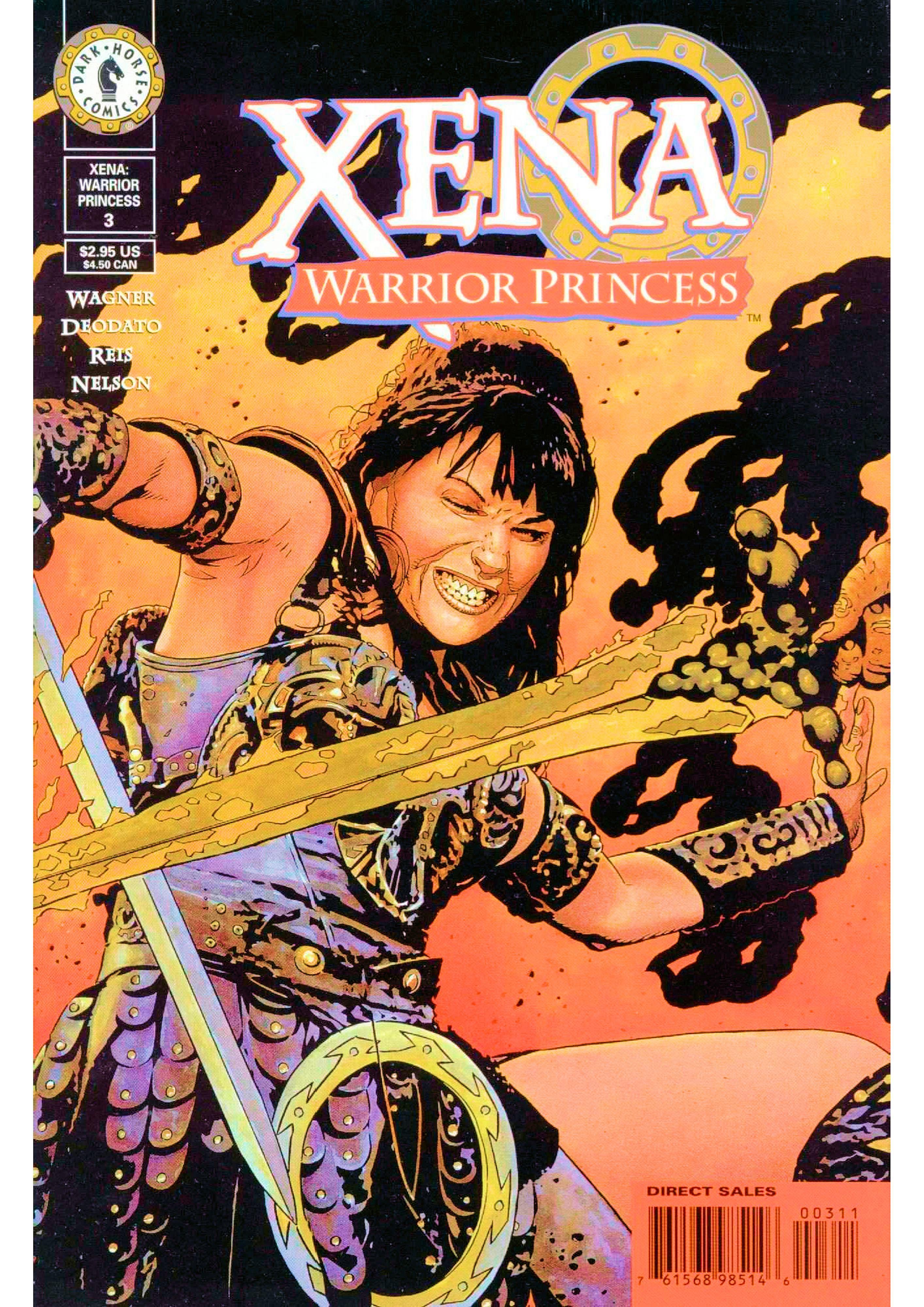 Read online Xena: Warrior Princess (1999) comic -  Issue #3 - 2