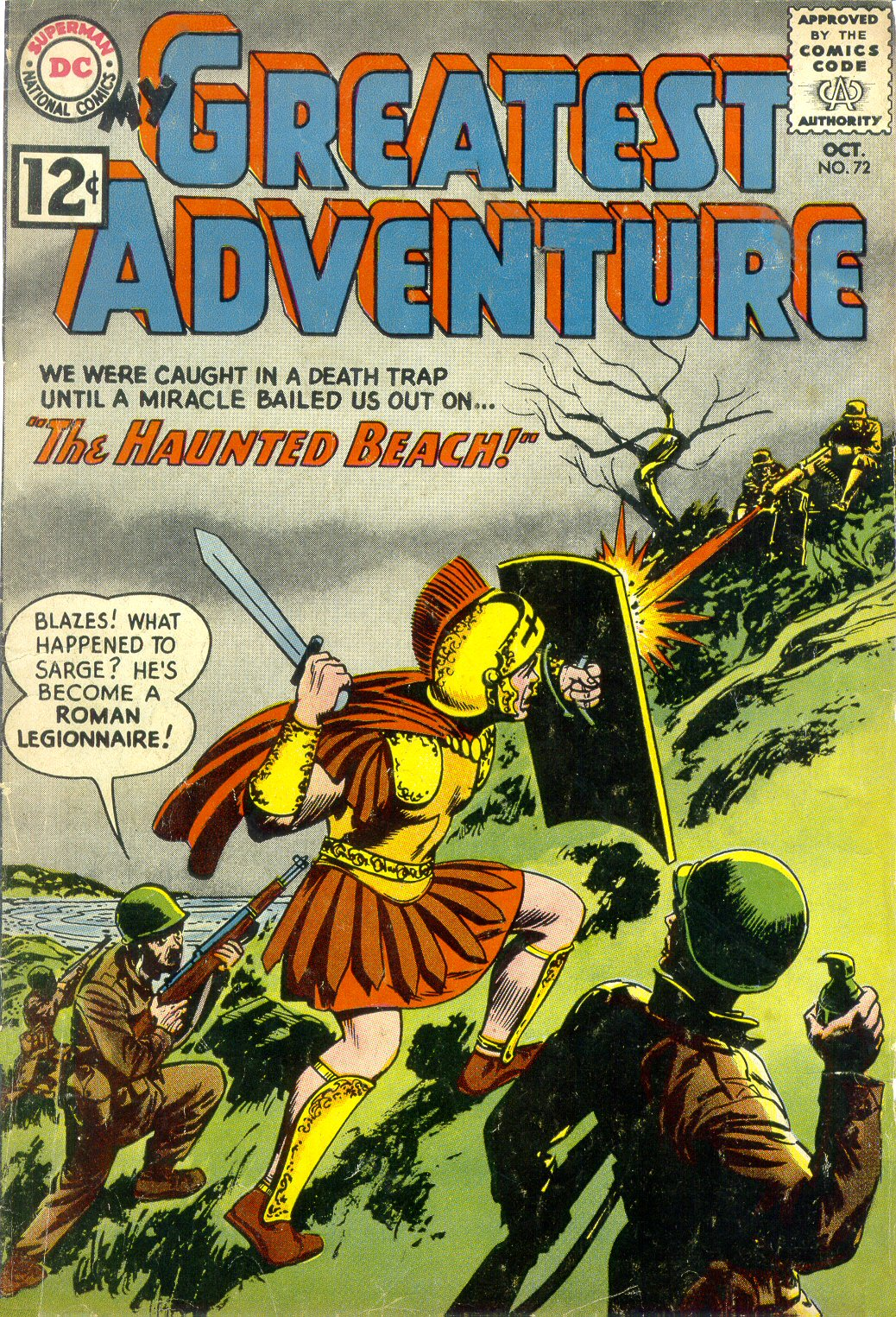 My Greatest Adventure (1955) issue 72 - Page 1