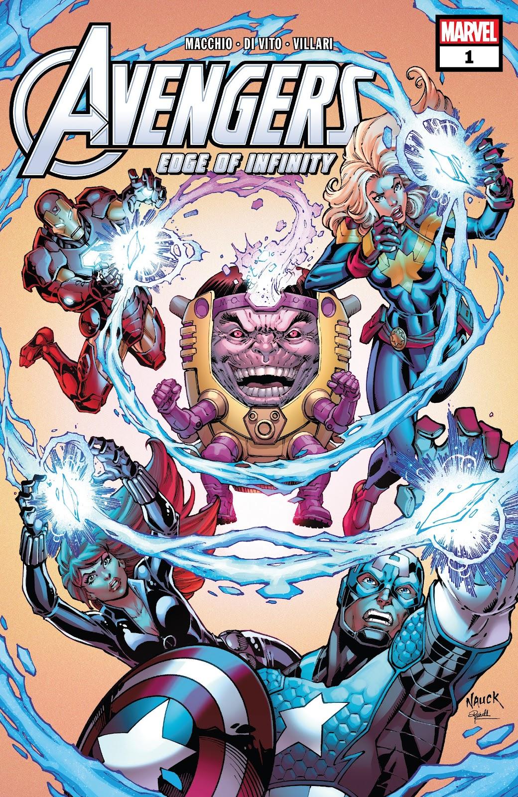 Read online Avengers: Edge of Infinity comic -  Issue # Full - 1