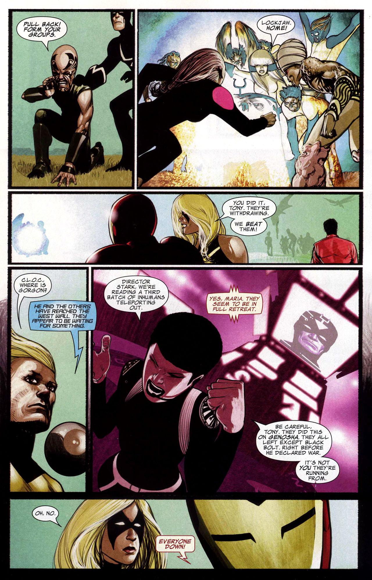 Read online Silent War comic -  Issue #5 - 17