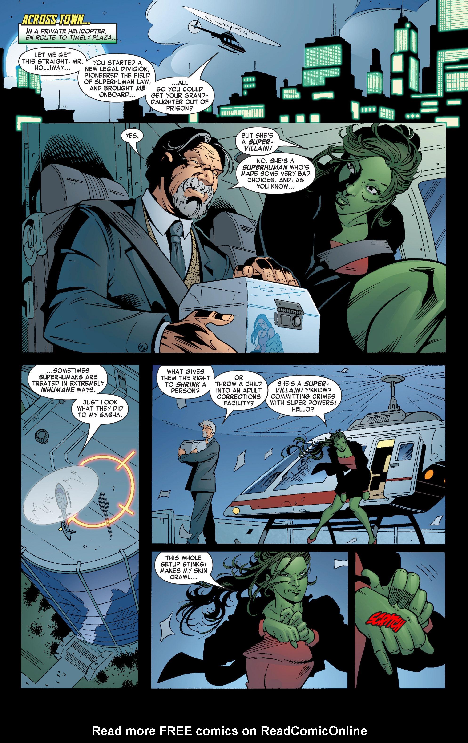 Read online She-Hulk (2004) comic -  Issue #6 - 5