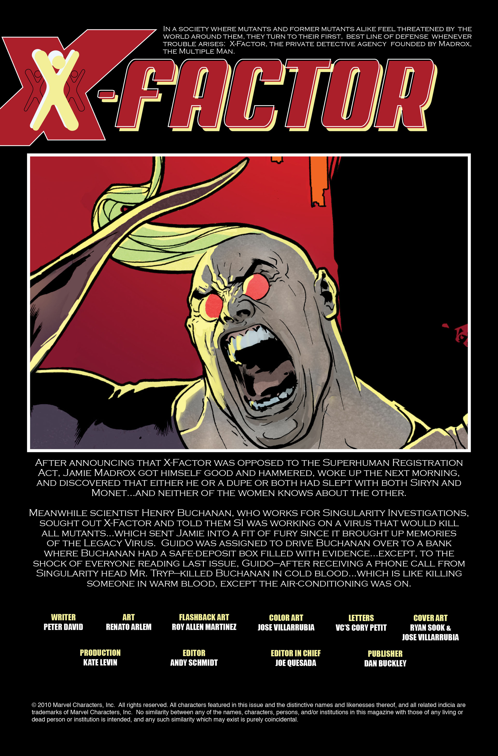 Read online X-Factor (2006) comic -  Issue #11 - 2
