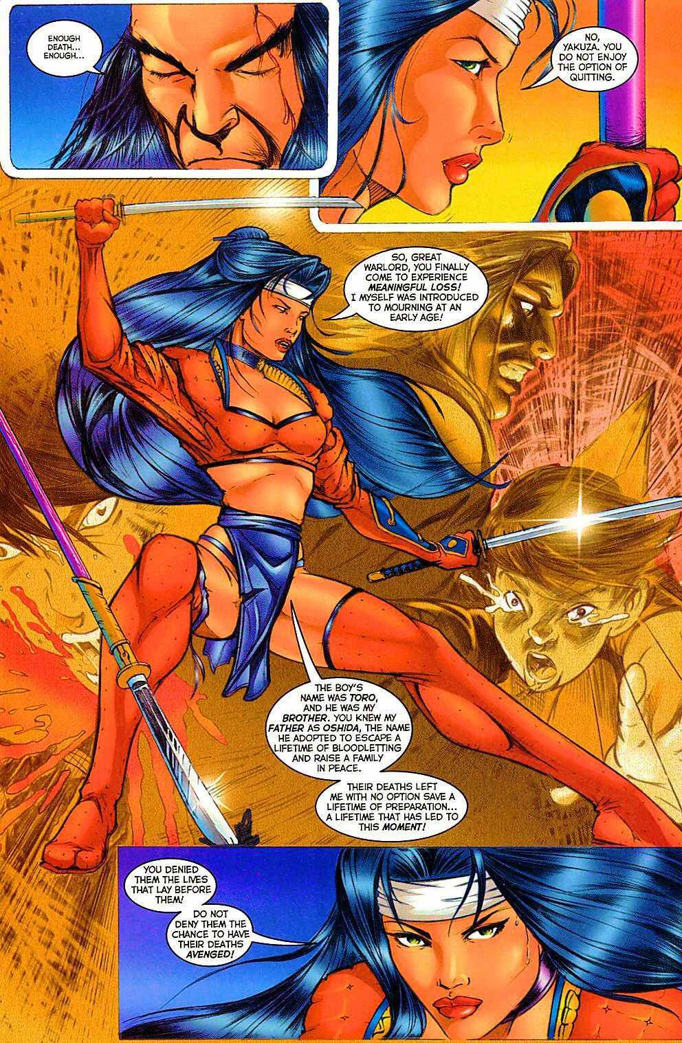 Read online Shi: The Way of the Warrior comic -  Issue #12 - 15