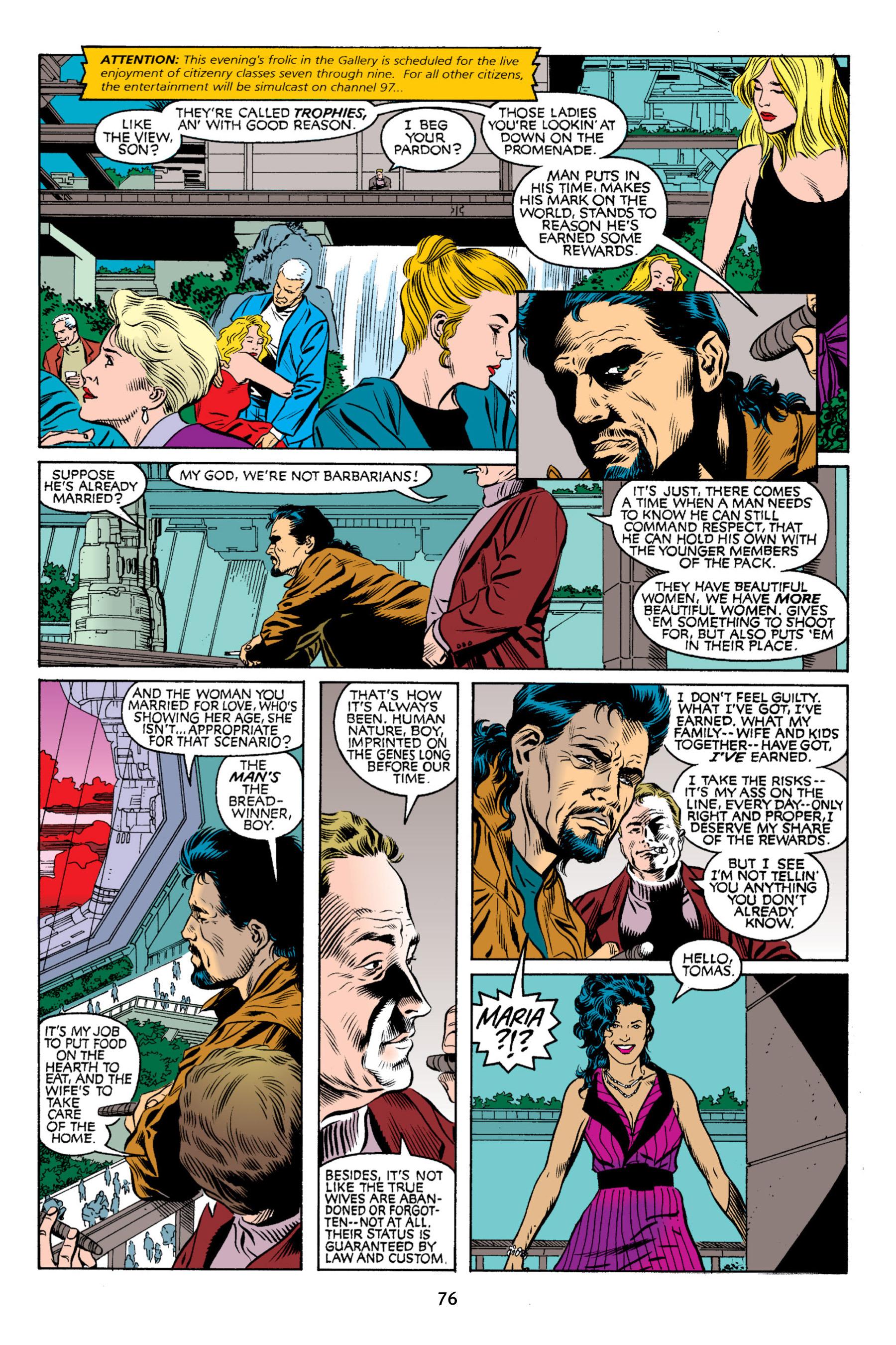 Read online Aliens vs. Predator Omnibus comic -  Issue # _TPB 2 Part 1 - 75
