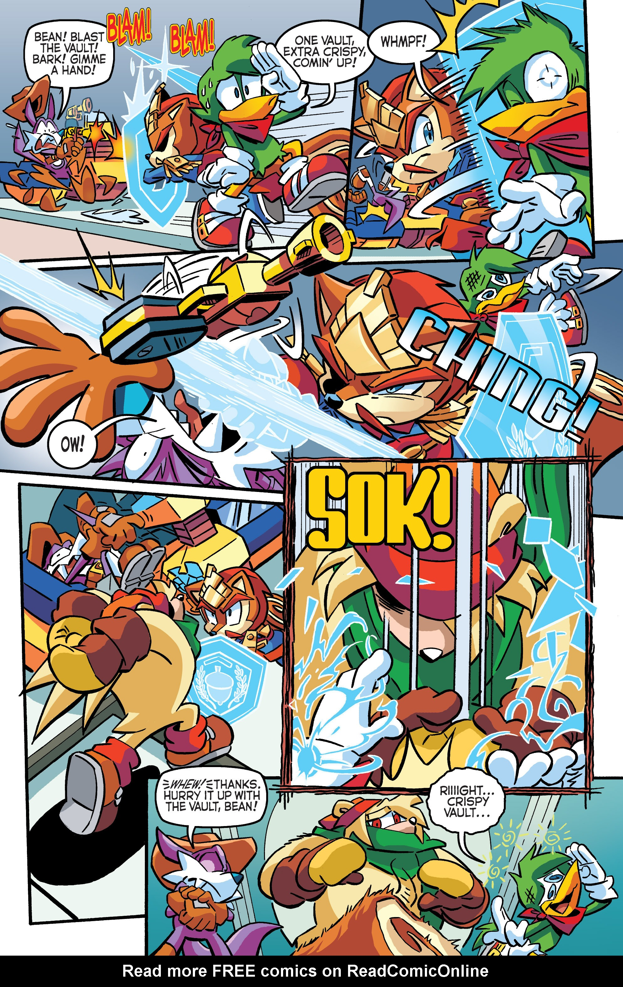 Read online Sonic The Hedgehog comic -  Issue #284 - 12