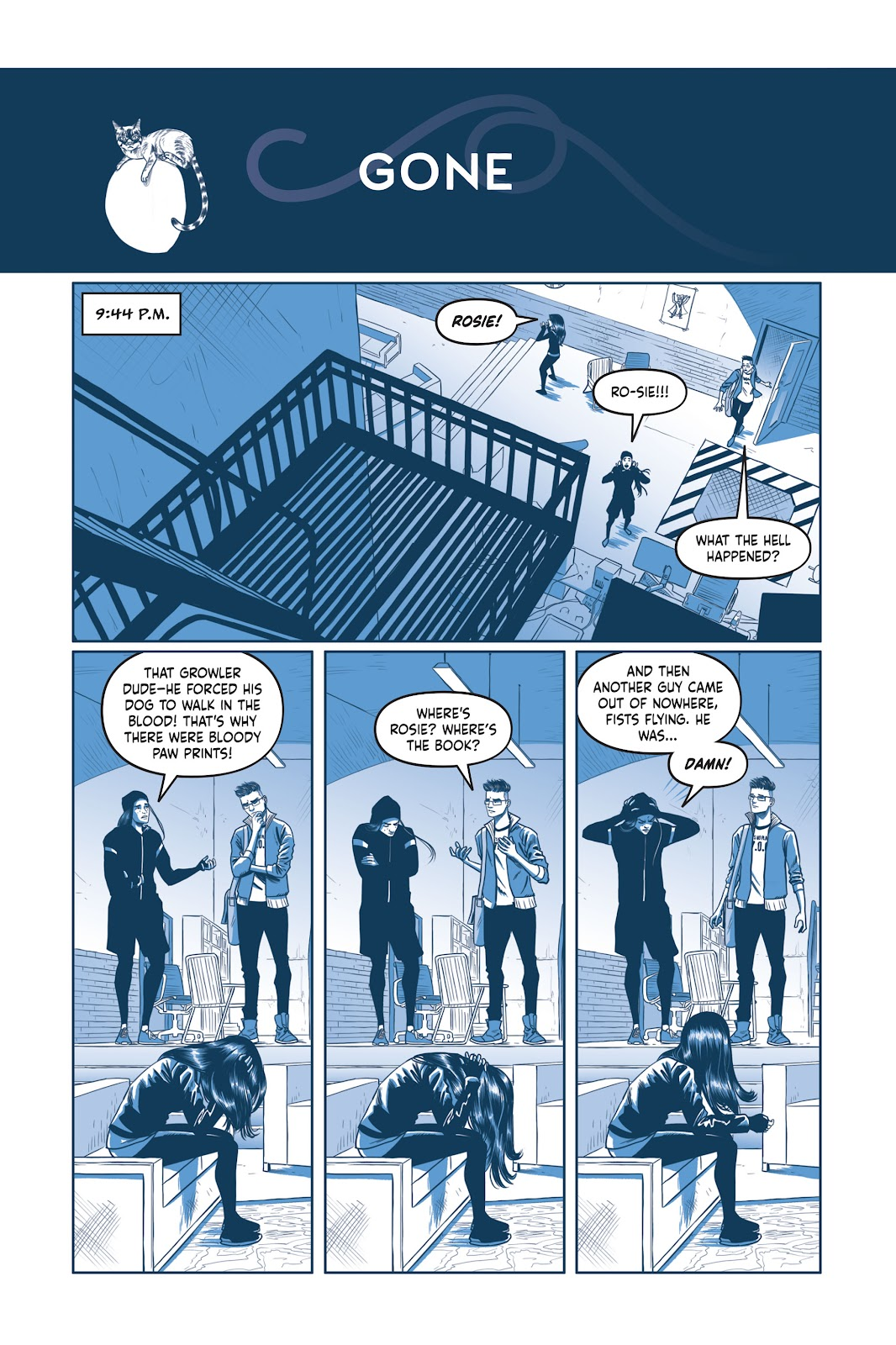 Read online Under the Moon: A Catwoman Tale comic -  Issue # TPB (Part 2) - 54