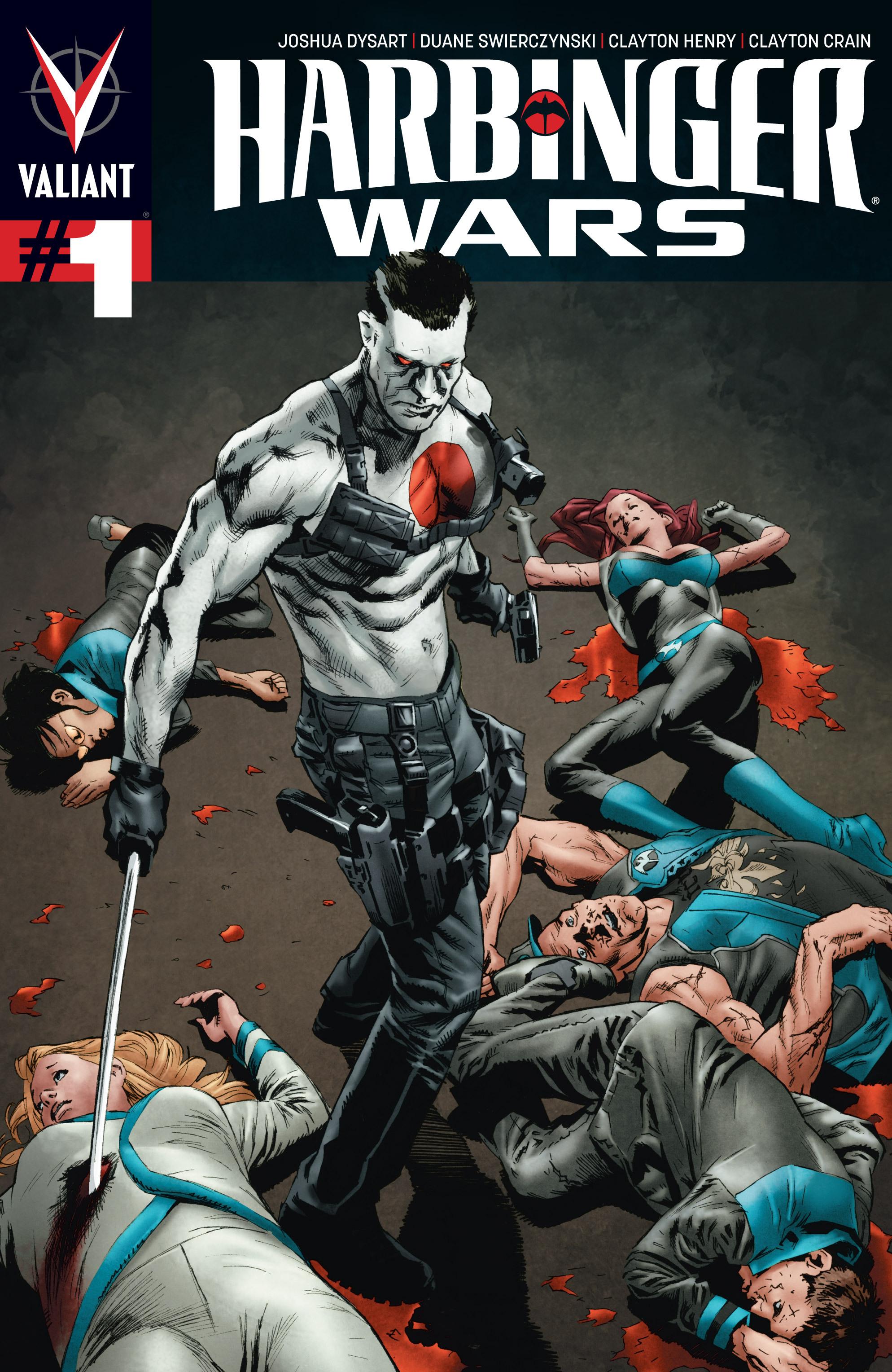 Read online Armor Hunters: Harbinger comic -  Issue # TPB - 77