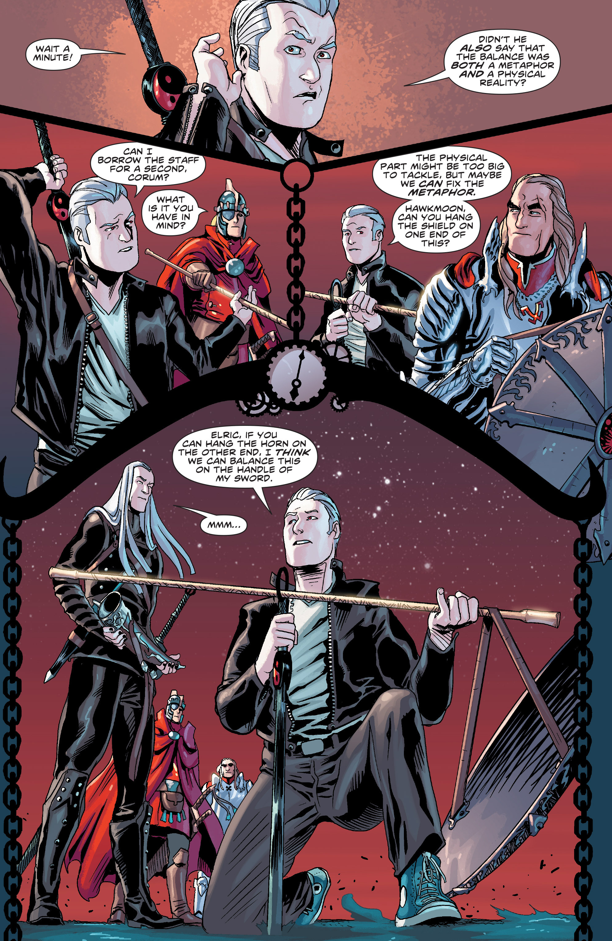 Read online Elric: The Balance Lost comic -  Issue # TPB 3 - 57