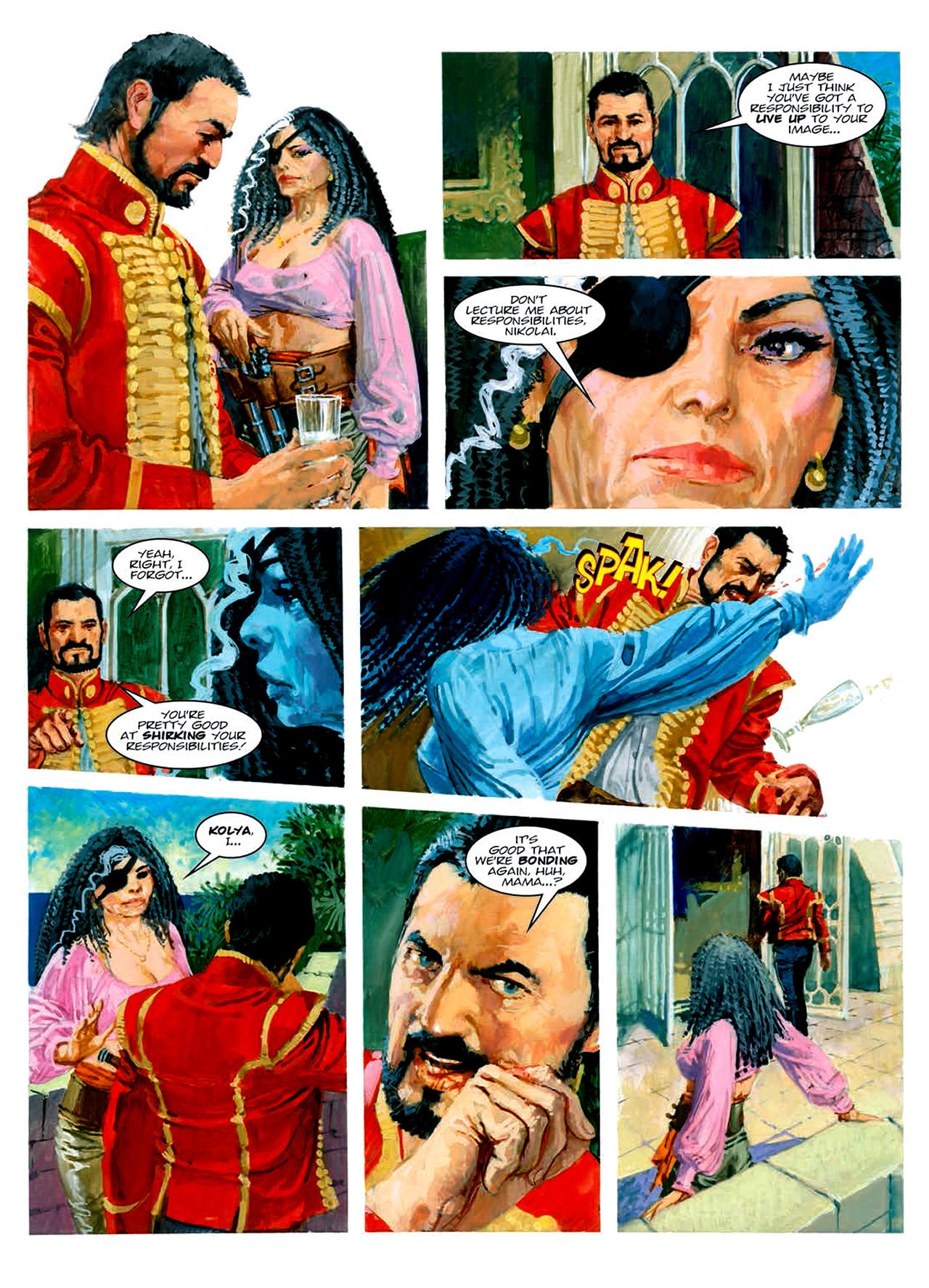 Read online Nikolai Dante comic -  Issue # TPB 6 - 155
