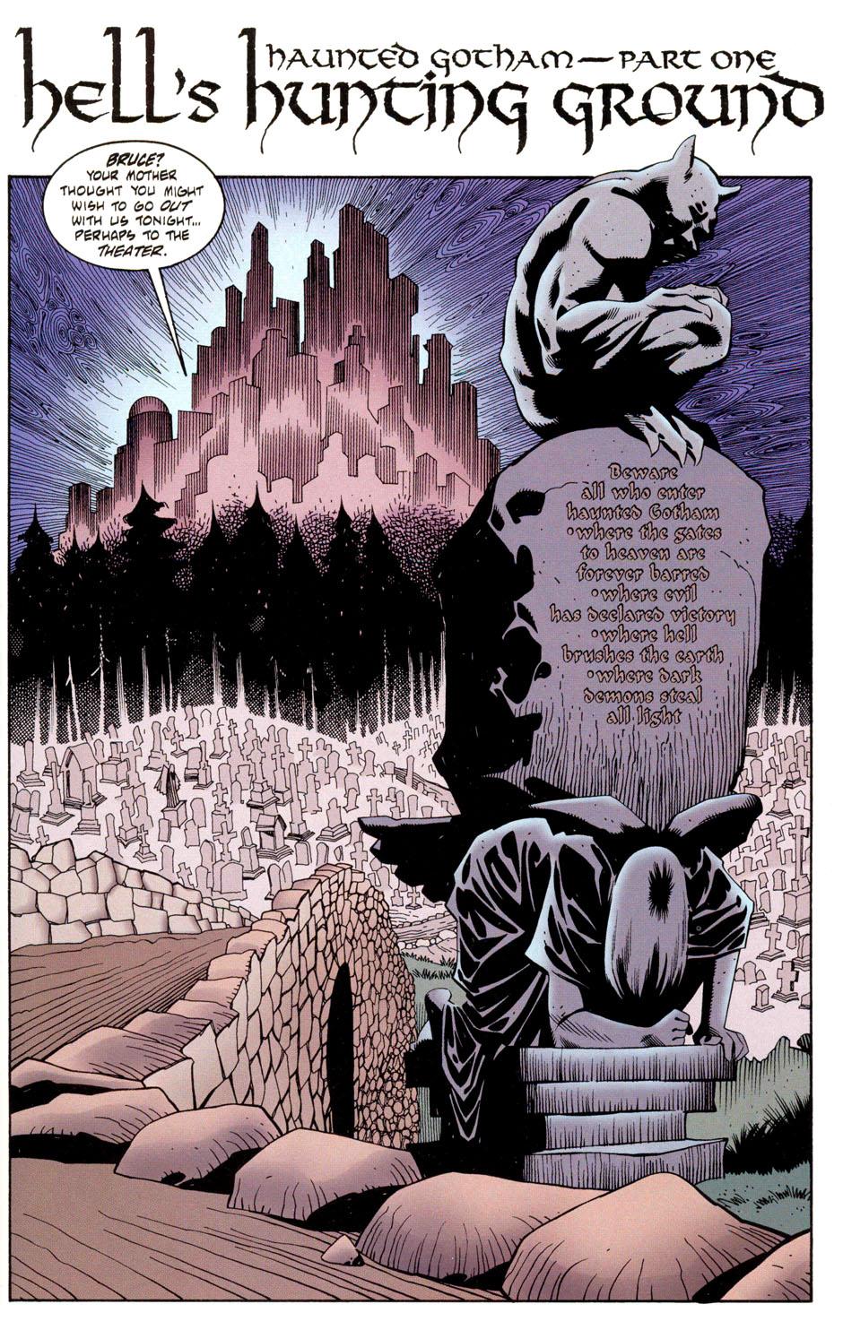 Read online Batman: Haunted Gotham comic -  Issue #1 - 3