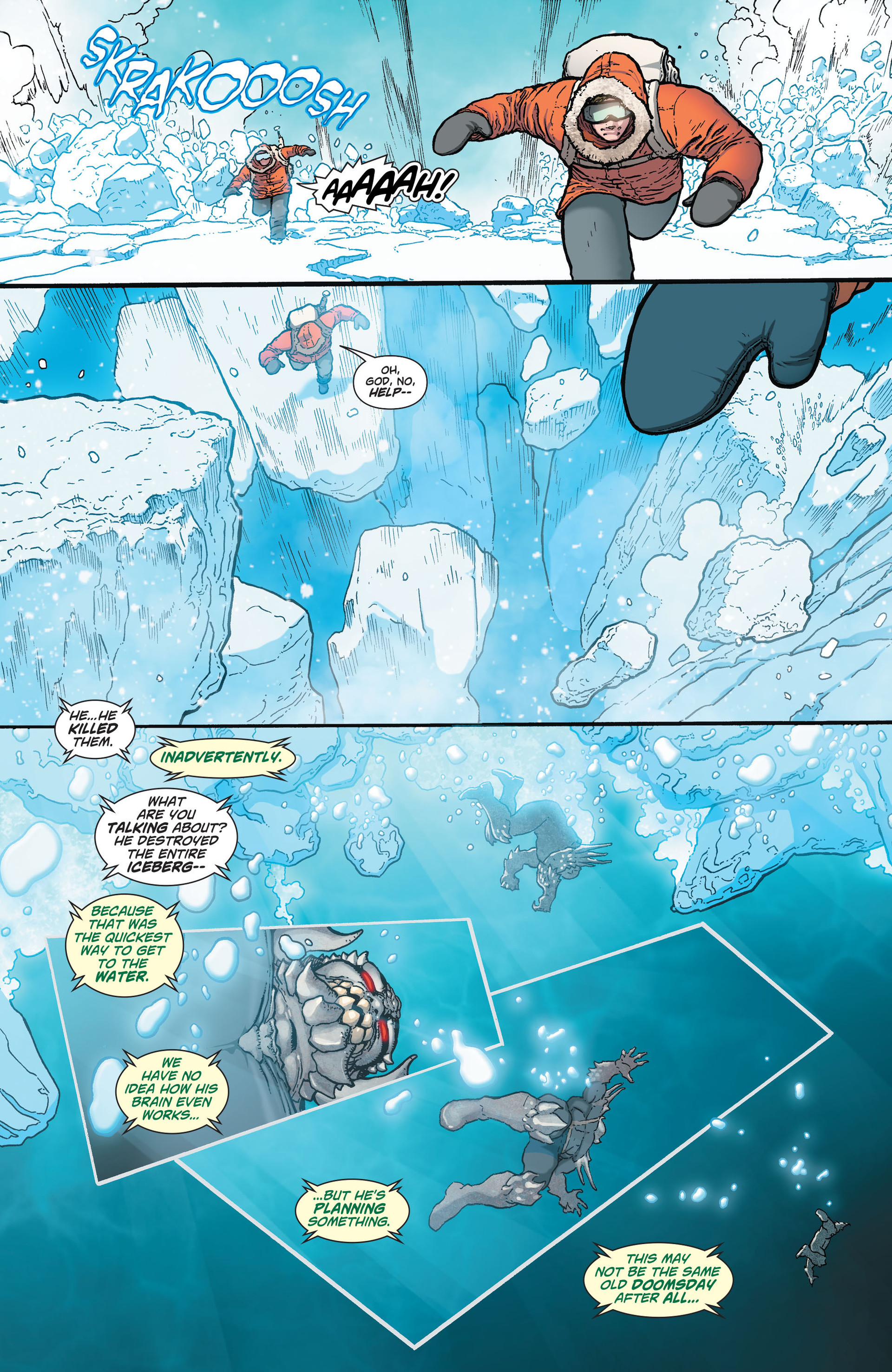 Read online Action Comics (2011) comic -  Issue #30 - 4