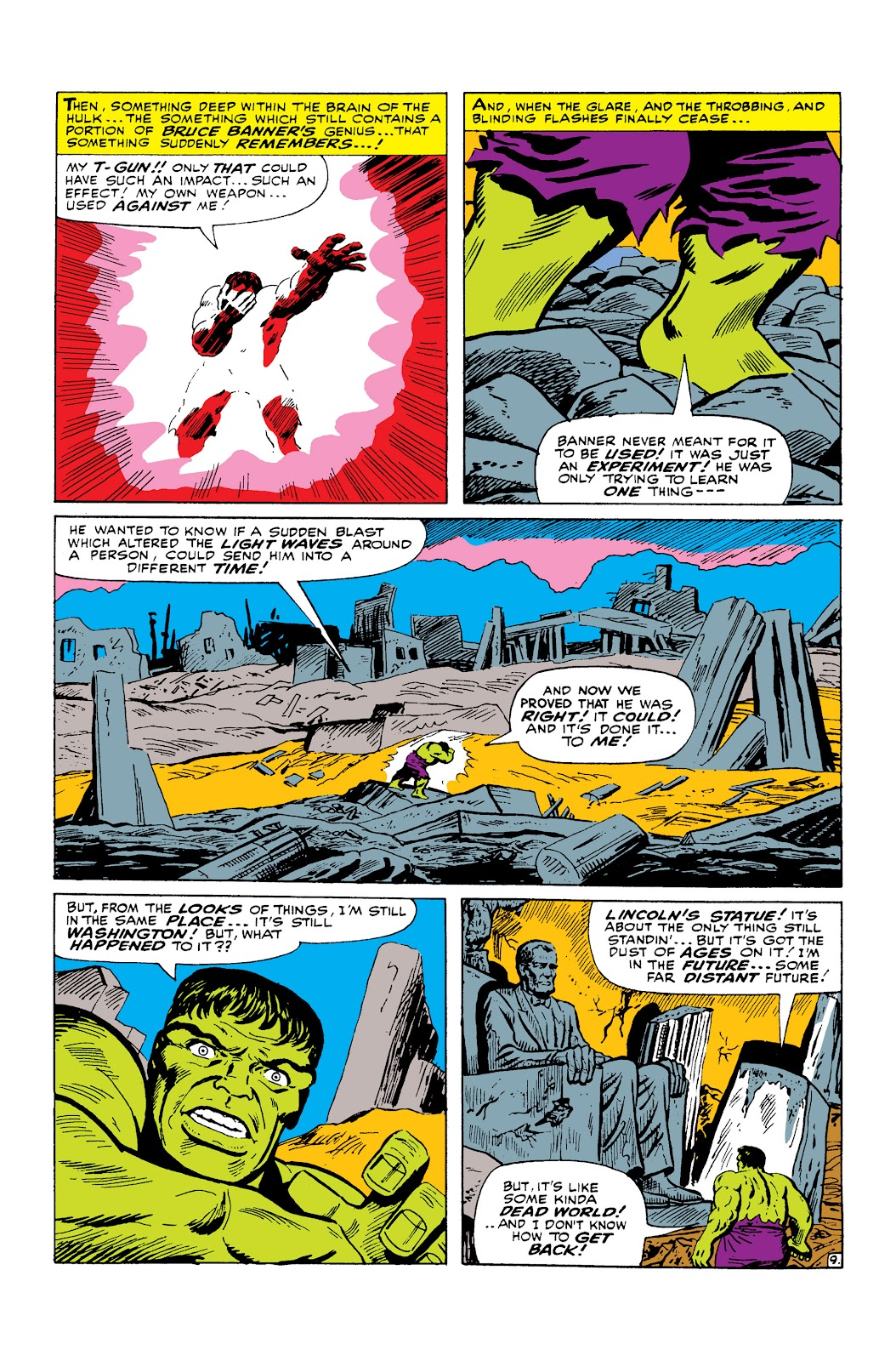 Read online Marvel Masterworks: The Incredible Hulk comic -  Issue # TPB 2 (Part 2) - 98