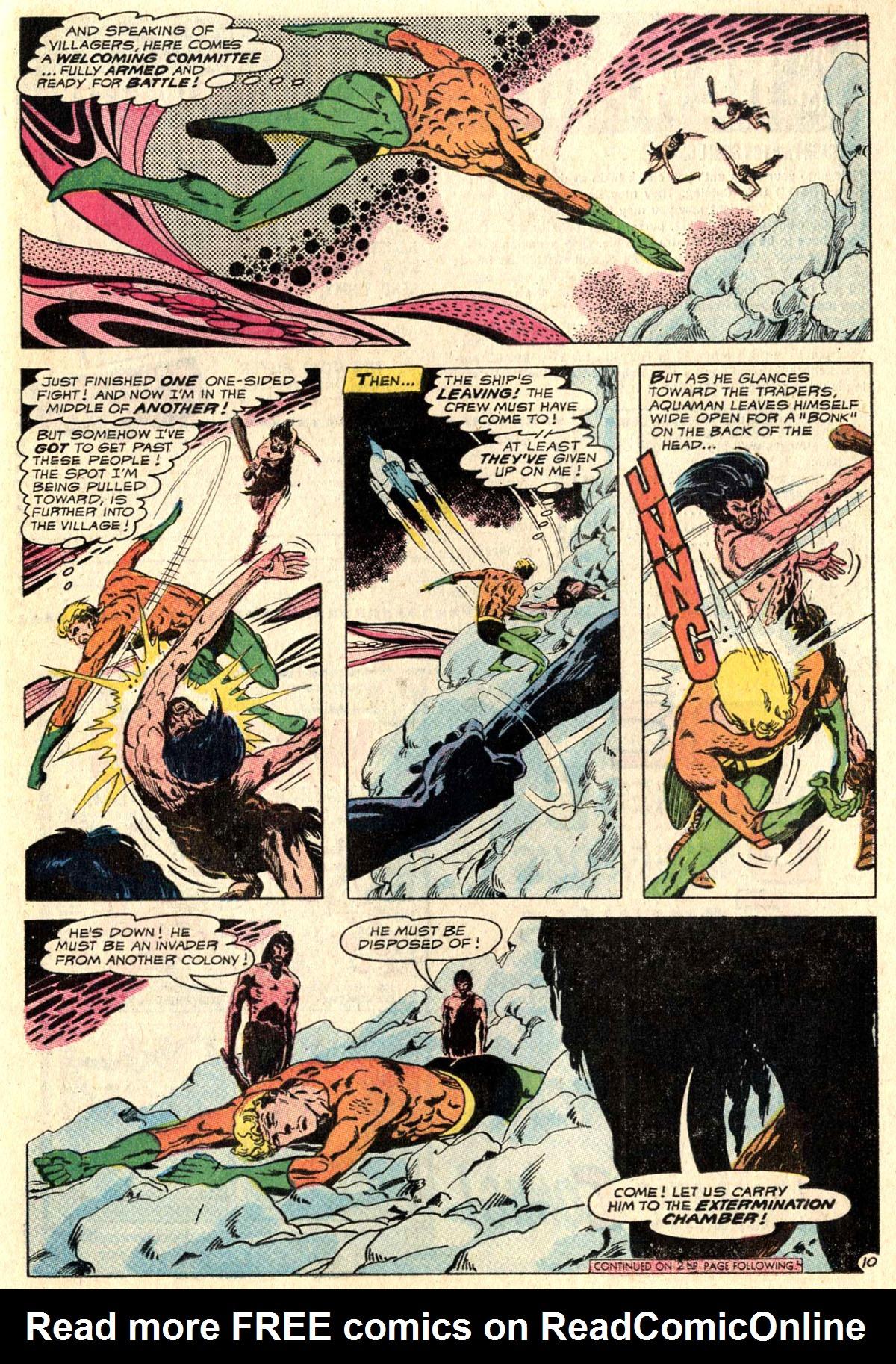 Read online Aquaman (1962) comic -  Issue #52 - 13