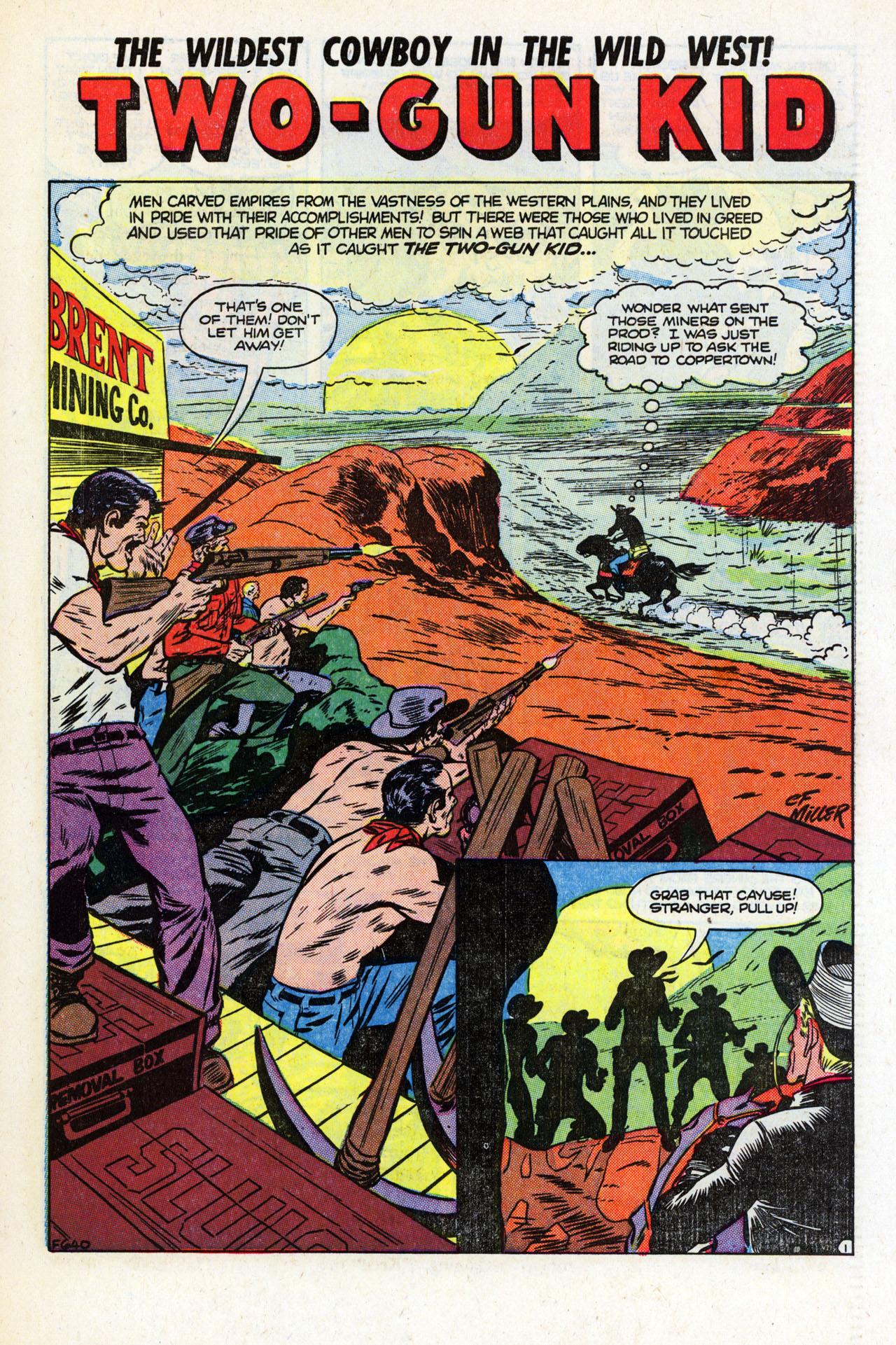 Read online Two-Gun Kid comic -  Issue #23 - 27