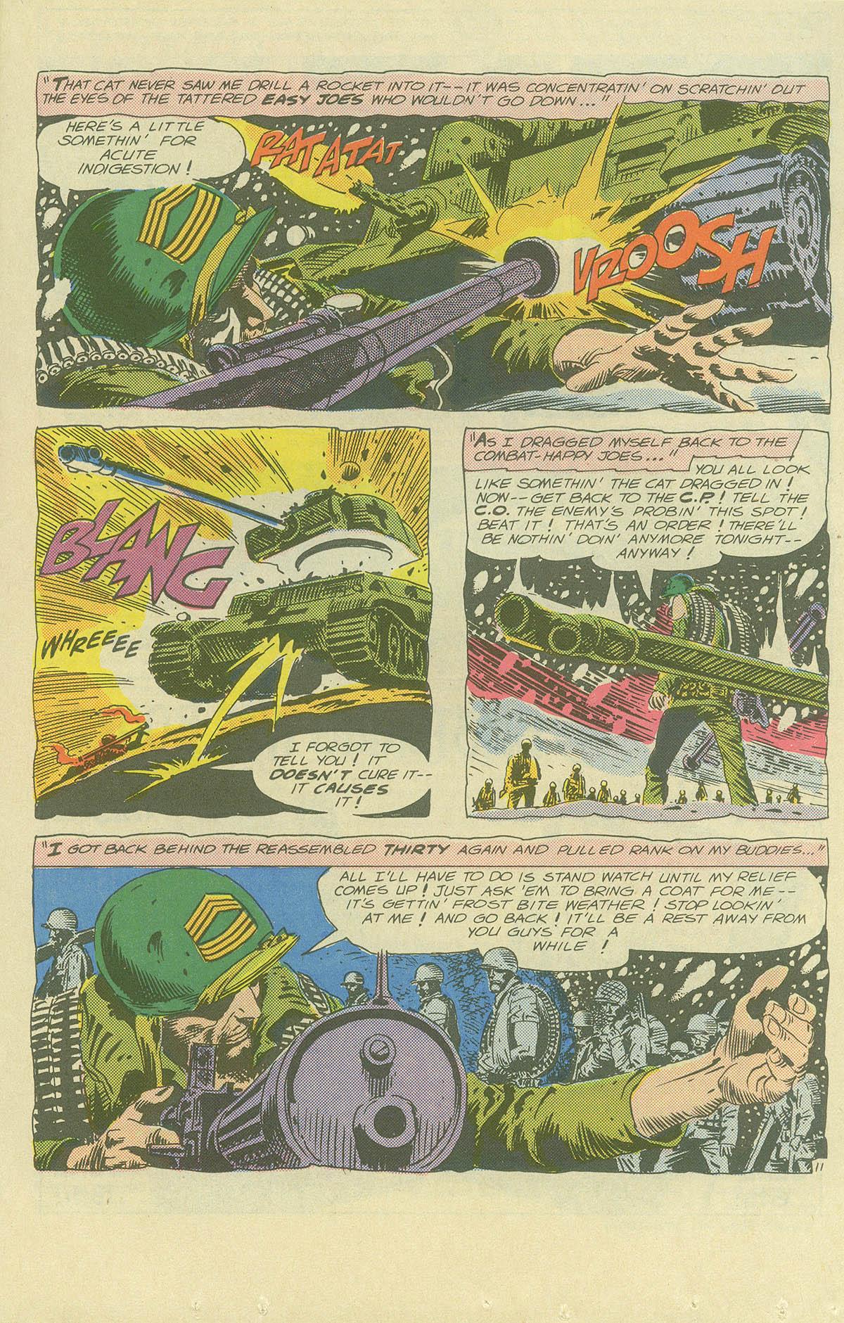 Read online Sgt. Rock comic -  Issue #404 - 15